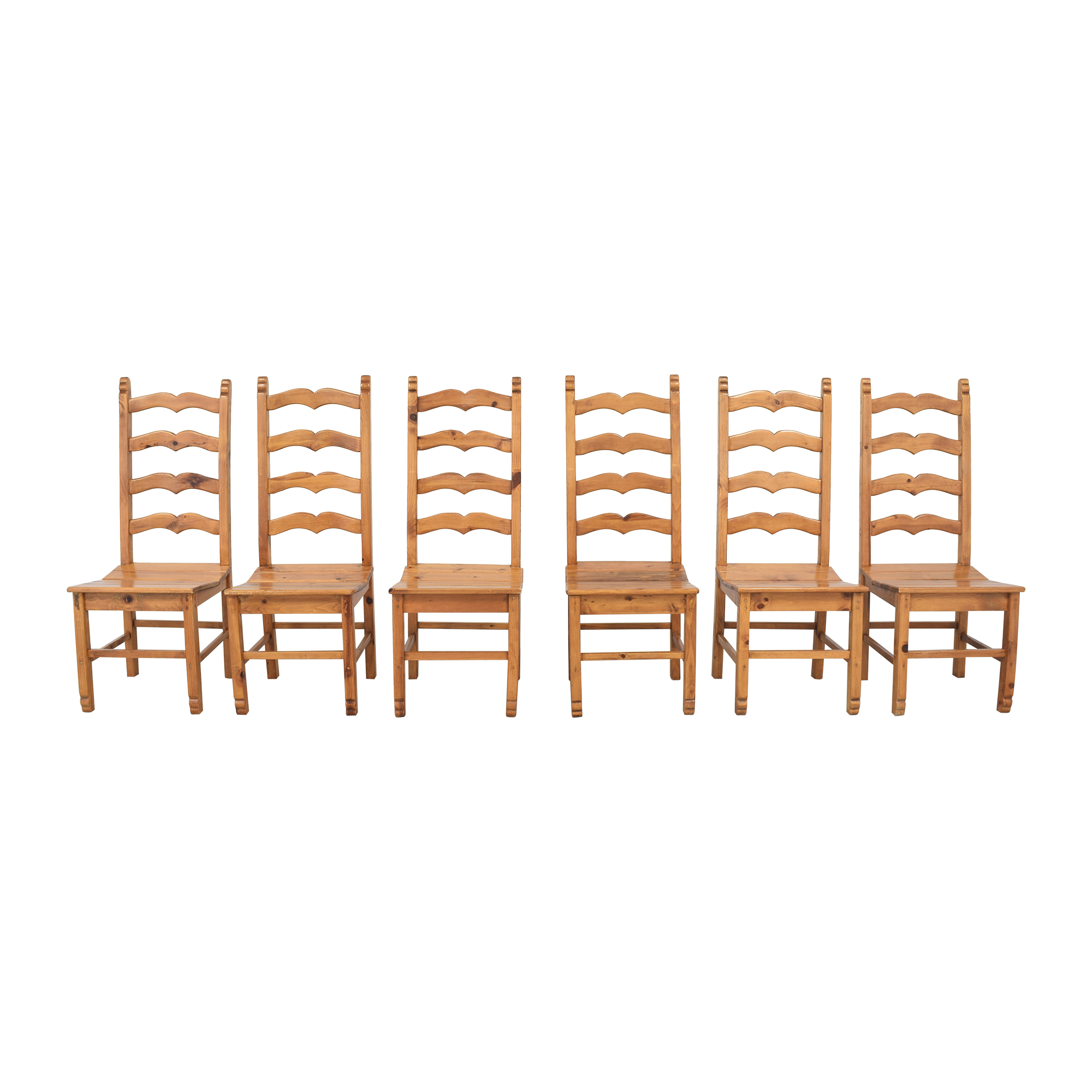 Sweetheart Ladder Back Dining Chairs dimensions