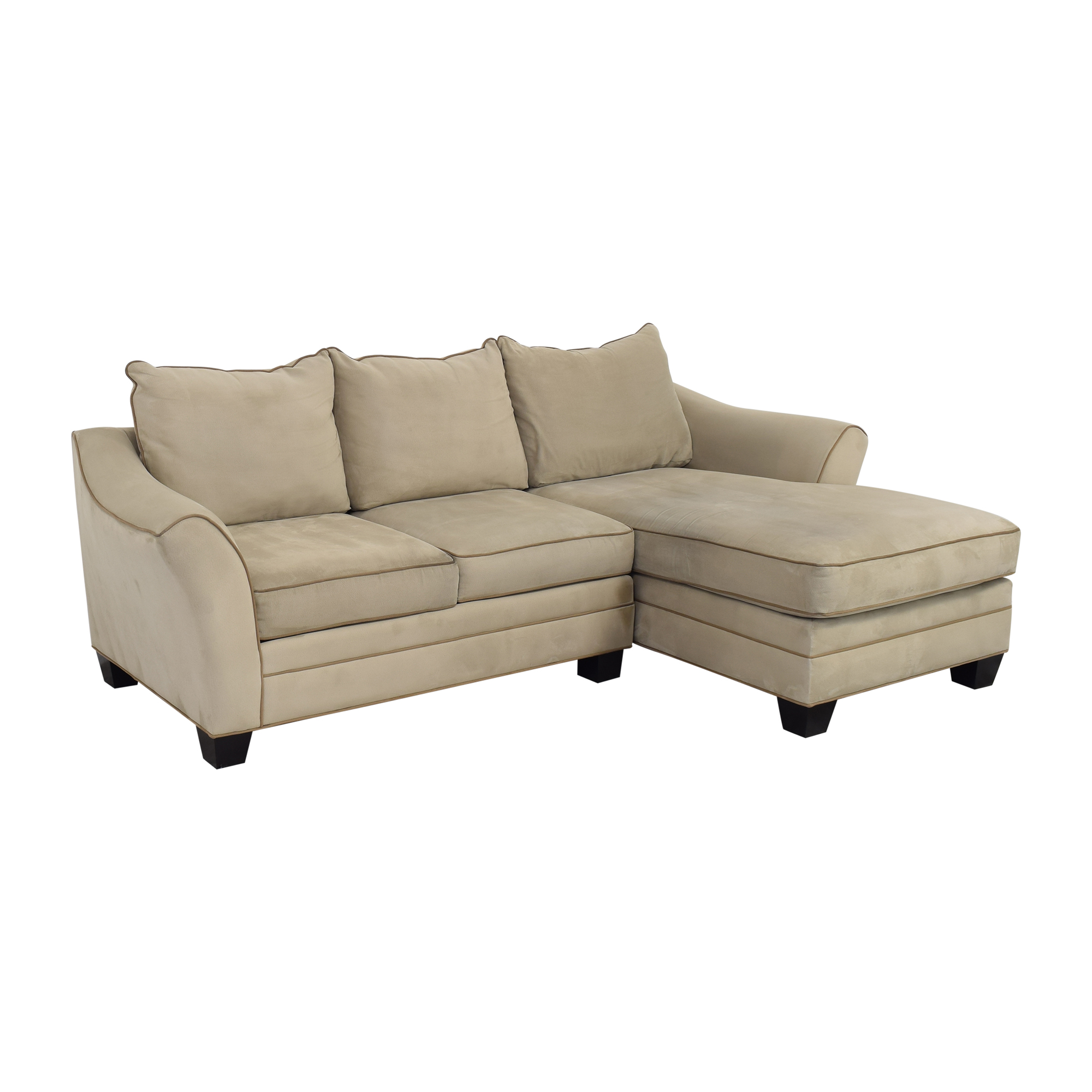 buy Raymour & Flanigan Chaise Sectional Sofa Raymour & Flanigan Sofas