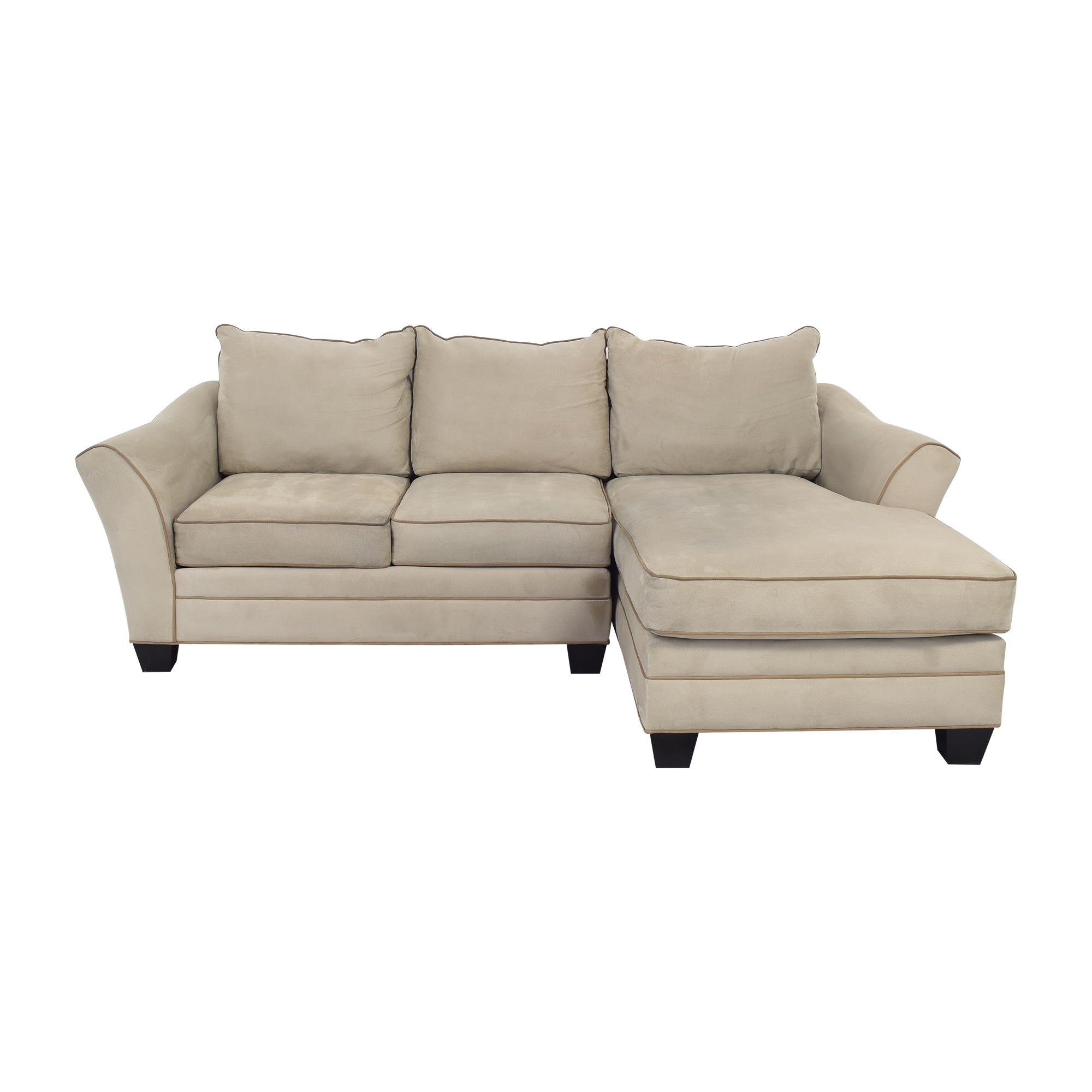 Raymour & Flanigan Raymour & Flanigan Chaise Sectional Sofa on sale