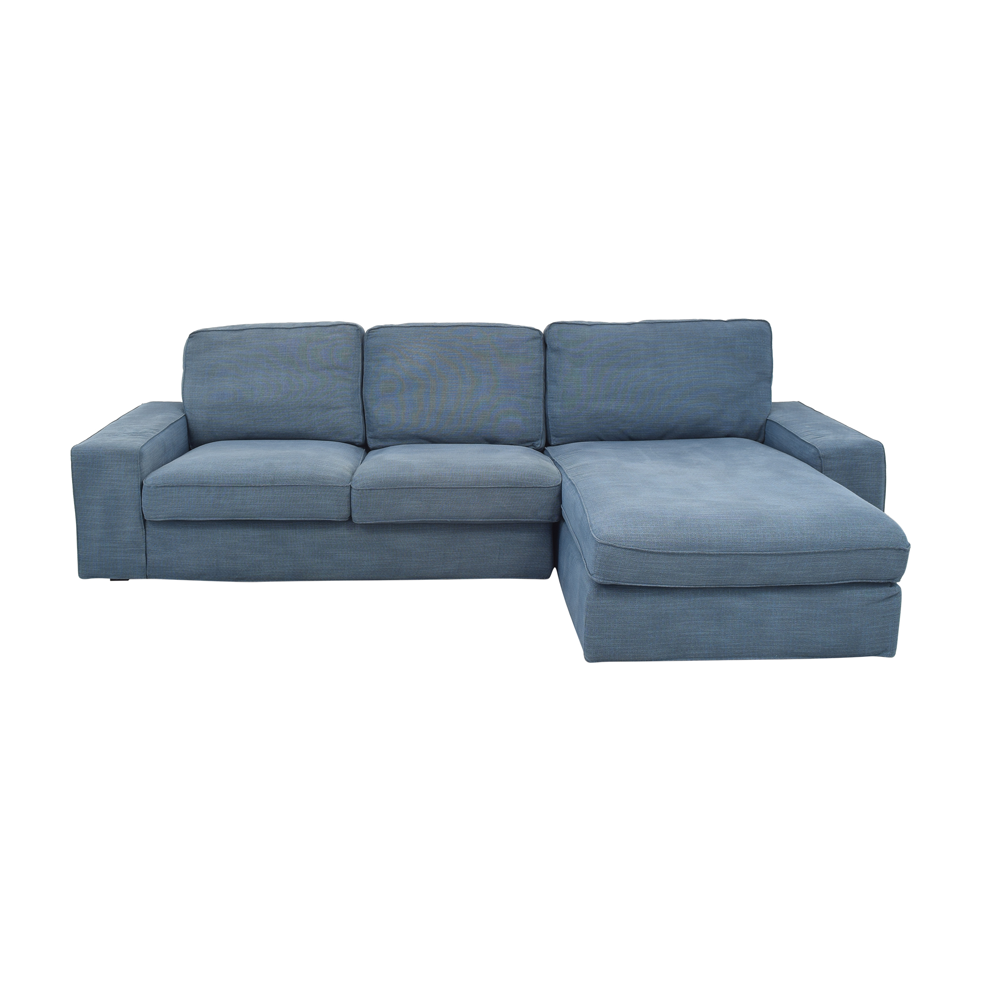 IKEA IKEA Kivik Sofa with Chaise Blue