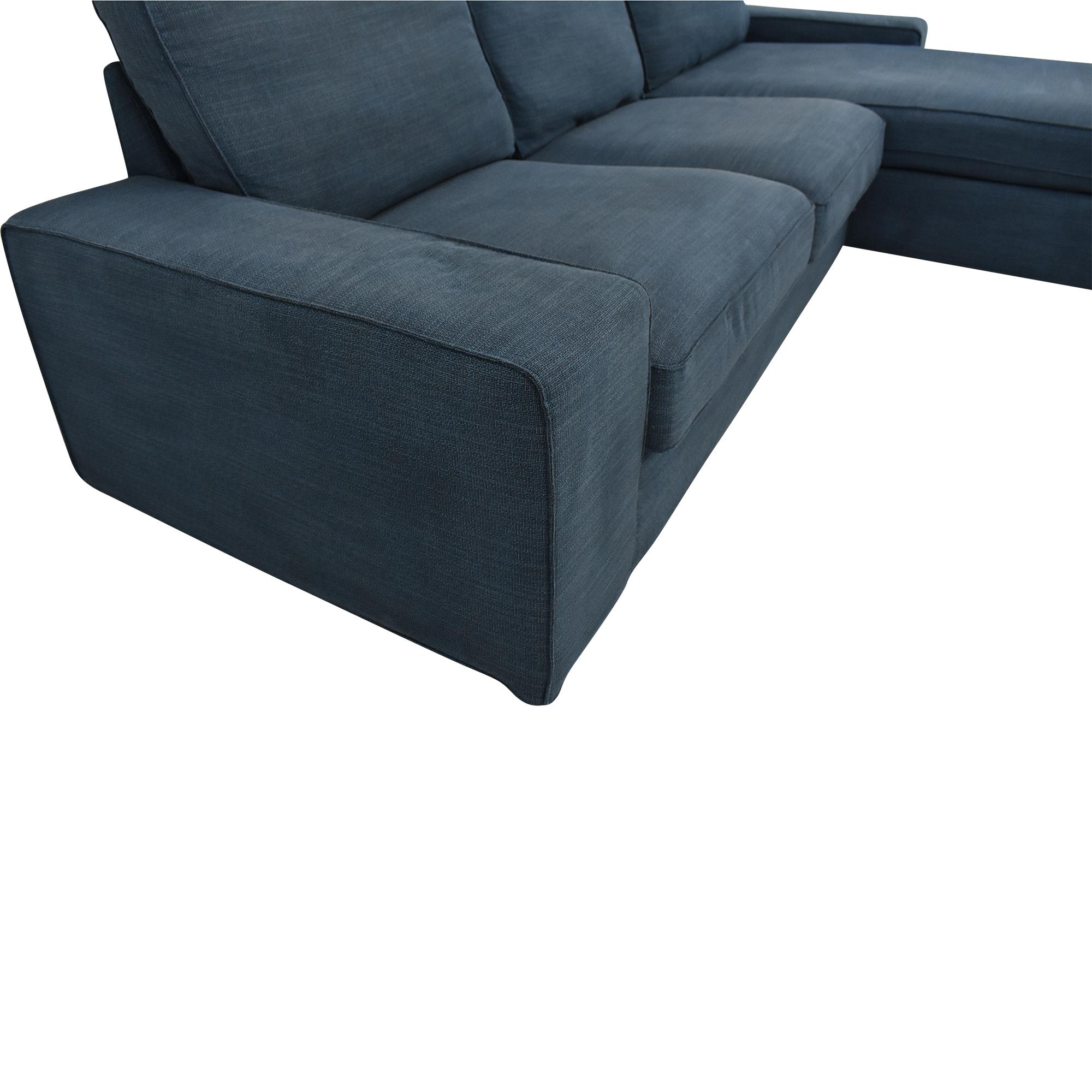 buy IKEA Kivik Sofa with Chaise IKEA Sofas