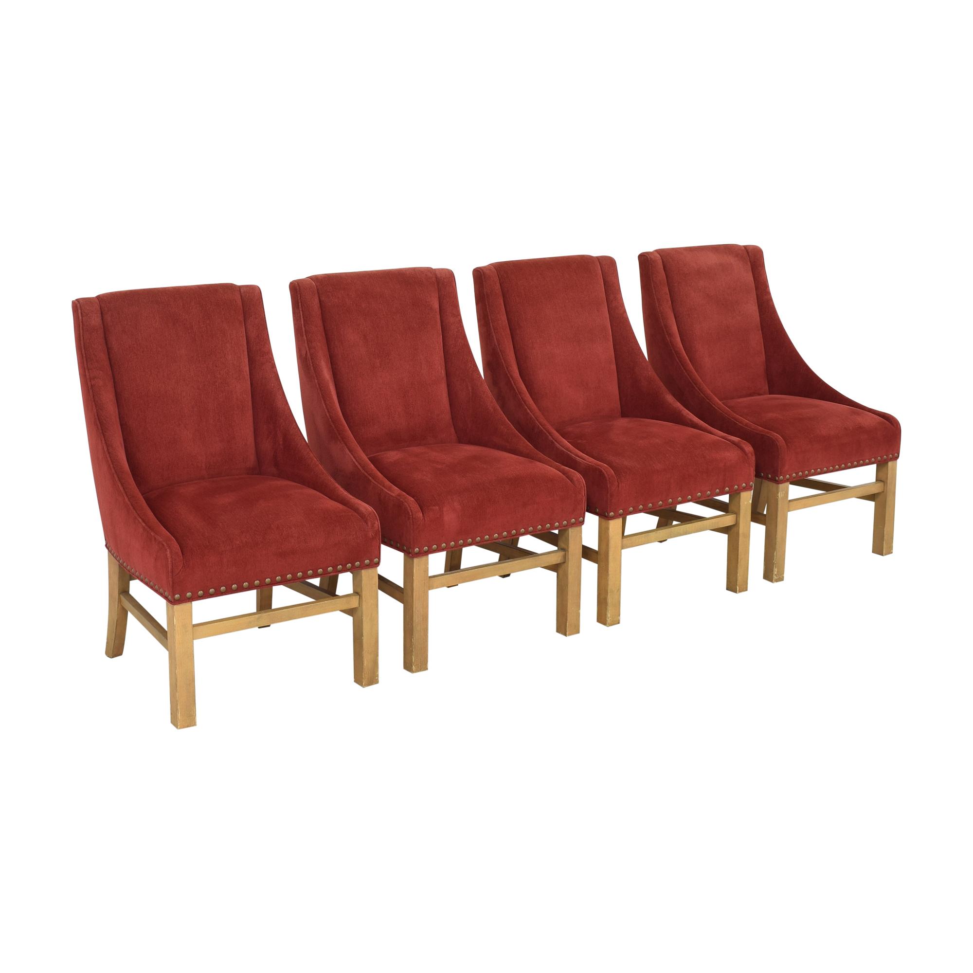 Bernhardt Bernhardt Upholstered Dining Chairs used