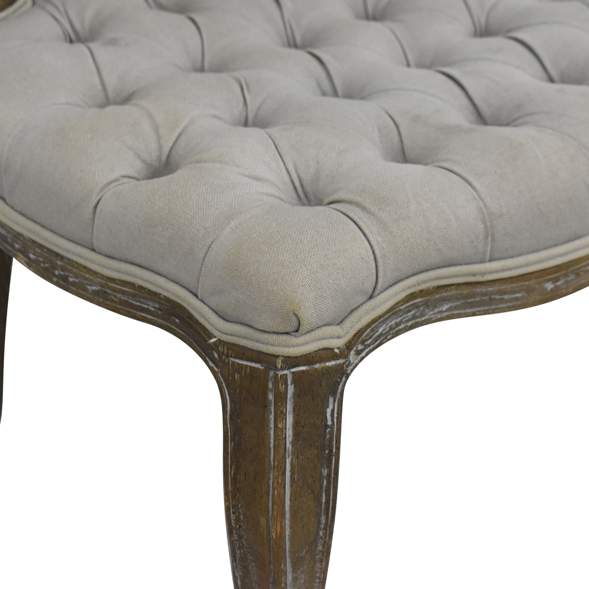 Arhaus Arhaus Country French Tufted Dining Chairs ma
