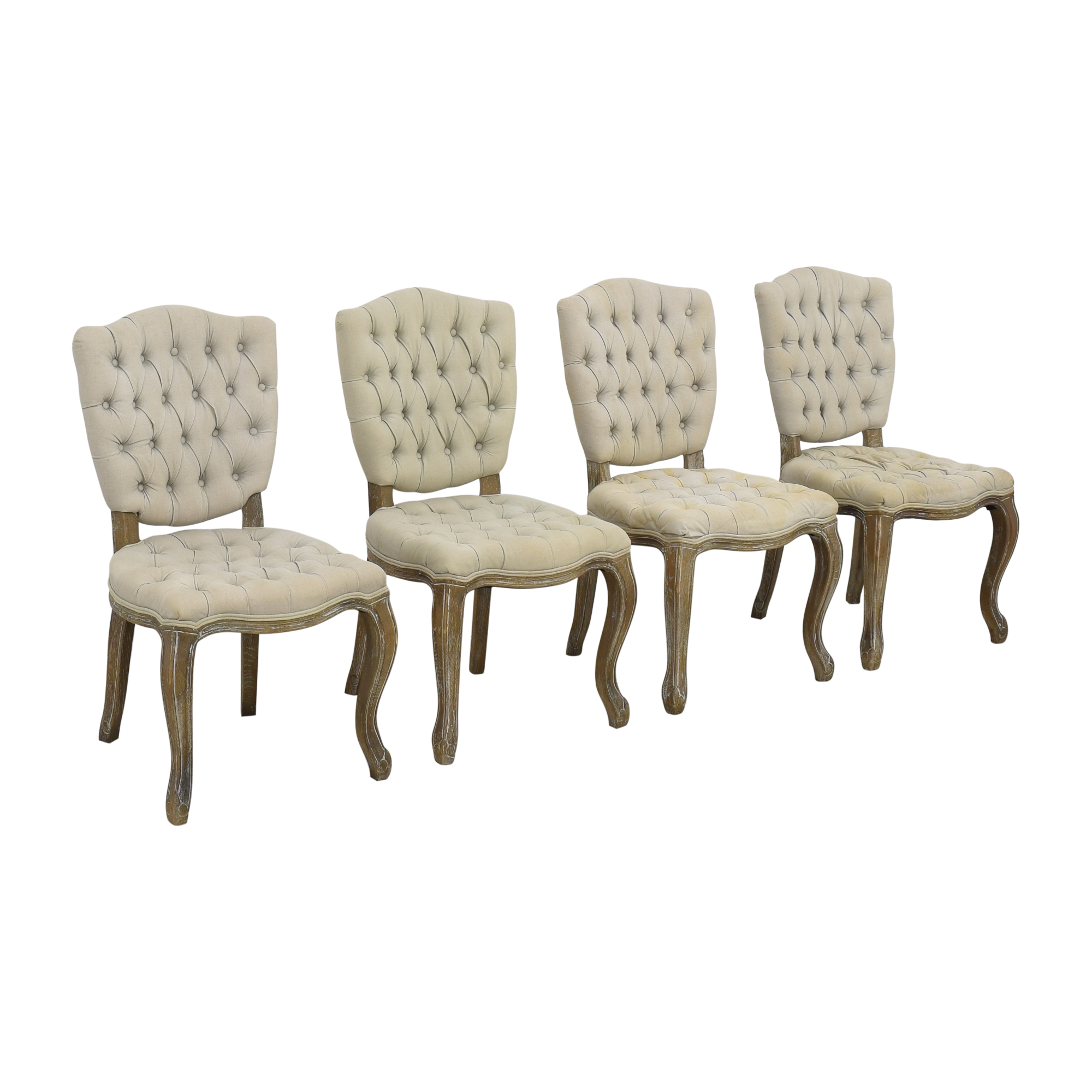 Arhaus Arhaus Country French Tufted Dining Chairs coupon