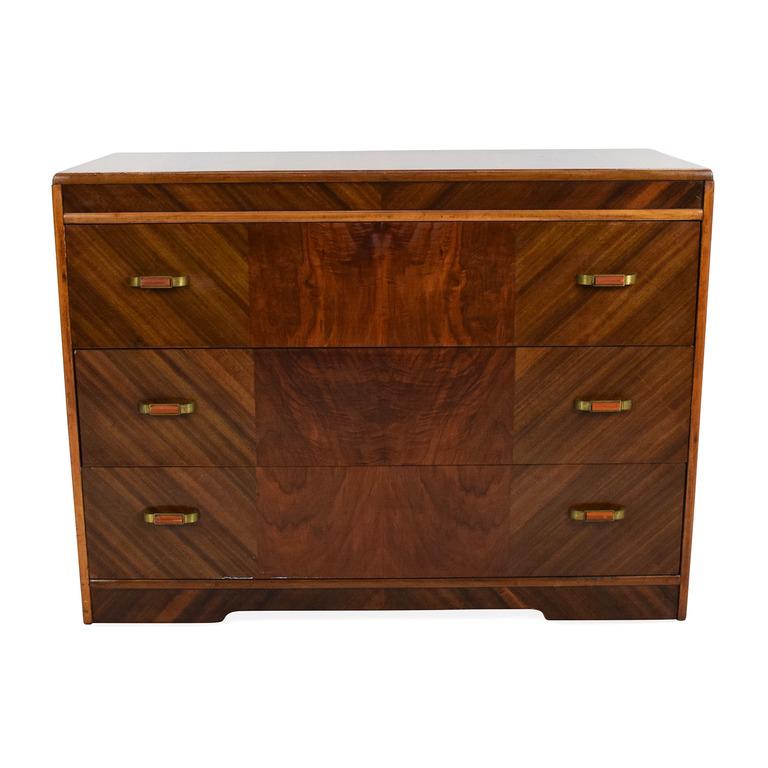 Pecan 3-Drawer Dresser discount
