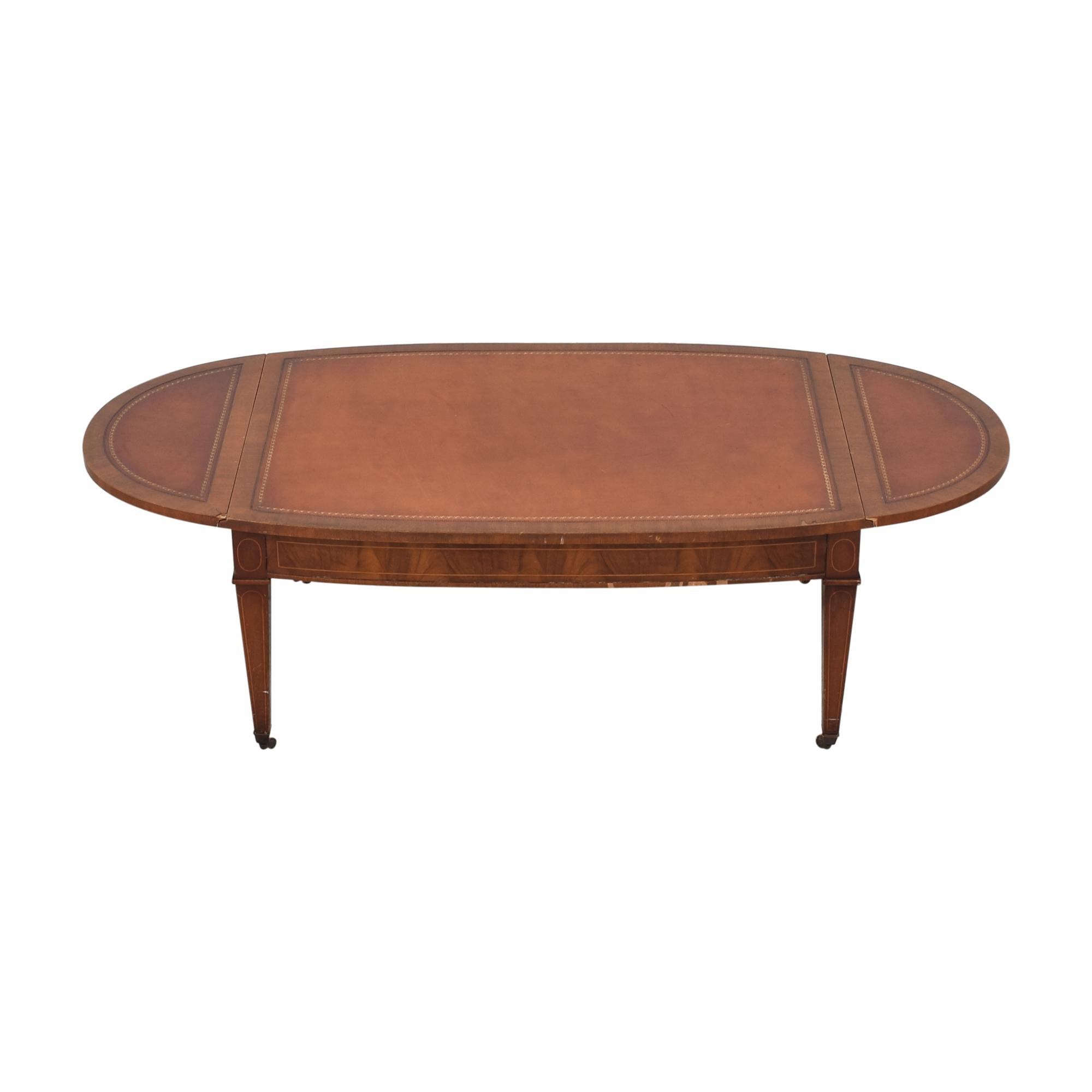 Henredon Furniture Henredon Side Extension Coffee Table