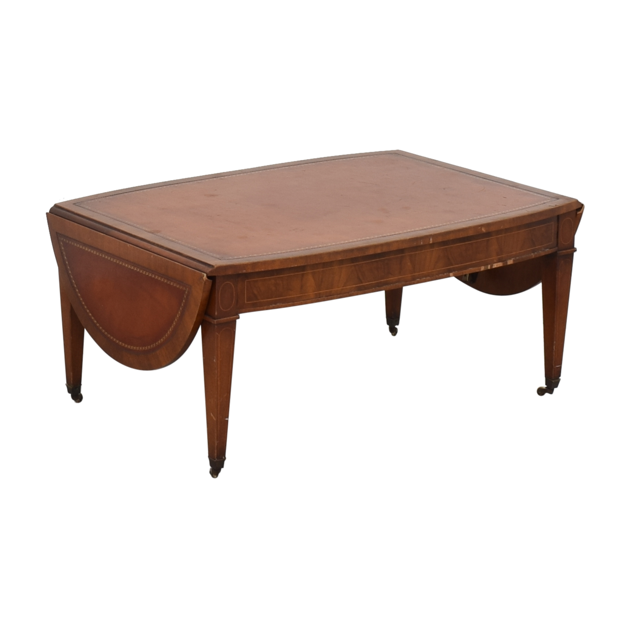 shop Henredon Side Extension Coffee Table Henredon Furniture