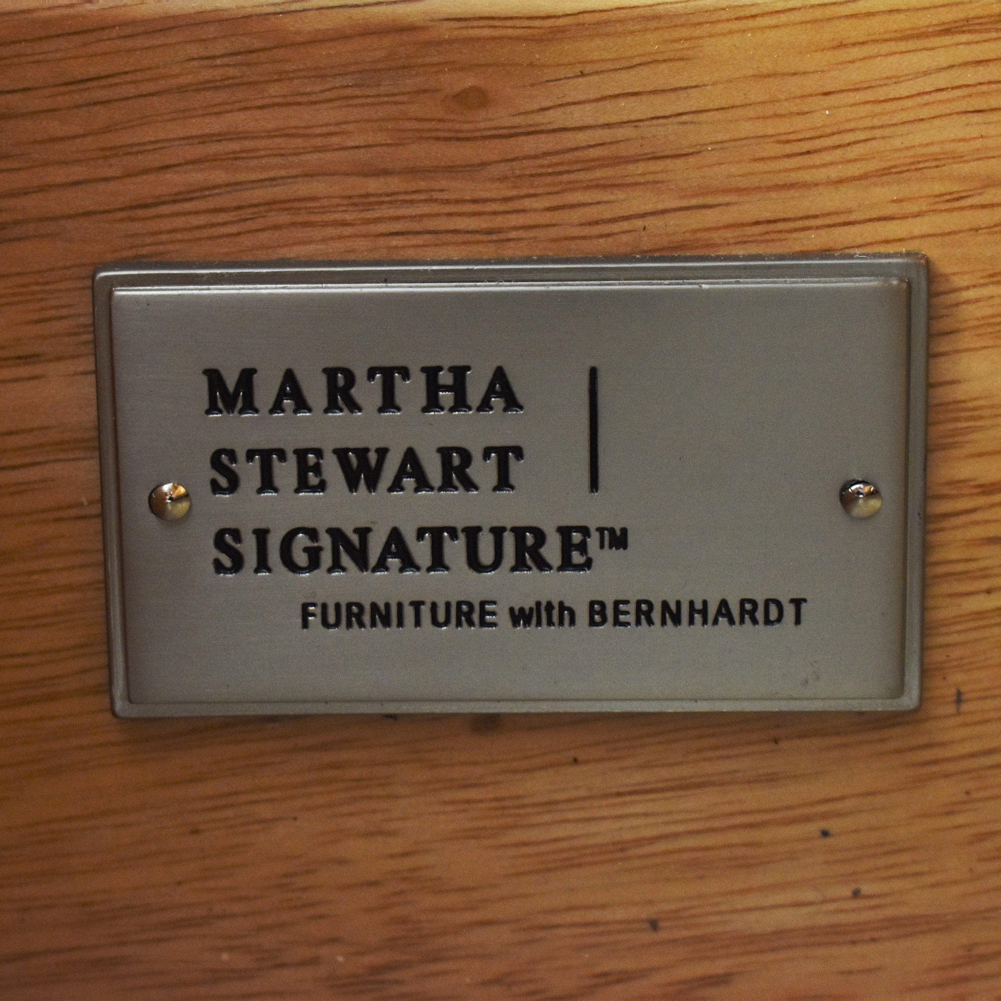 Bernhardt Martha Stewart Signature with Bernhardt Bamboo Style Armoire coupon