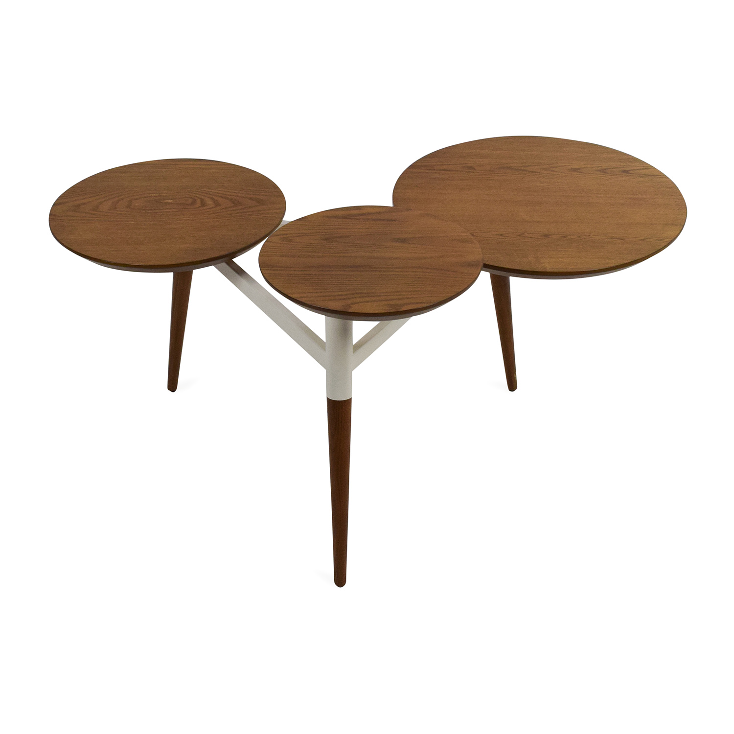 56% OFF West Elm West Elm Clover Coffee Table Tables