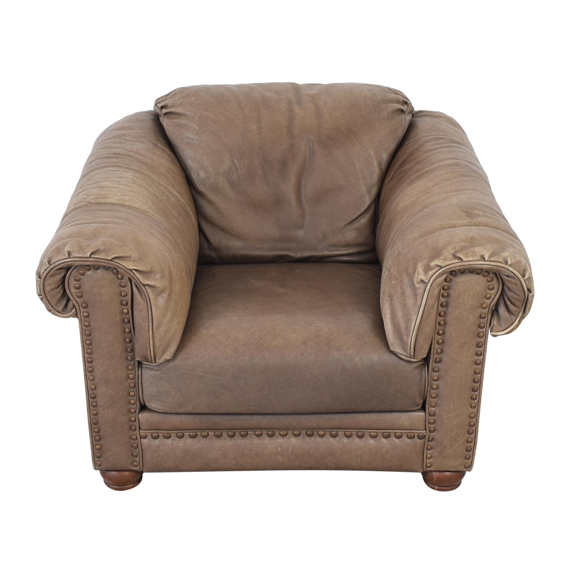 Lane Furniture Lane Leather Arm Chair discount