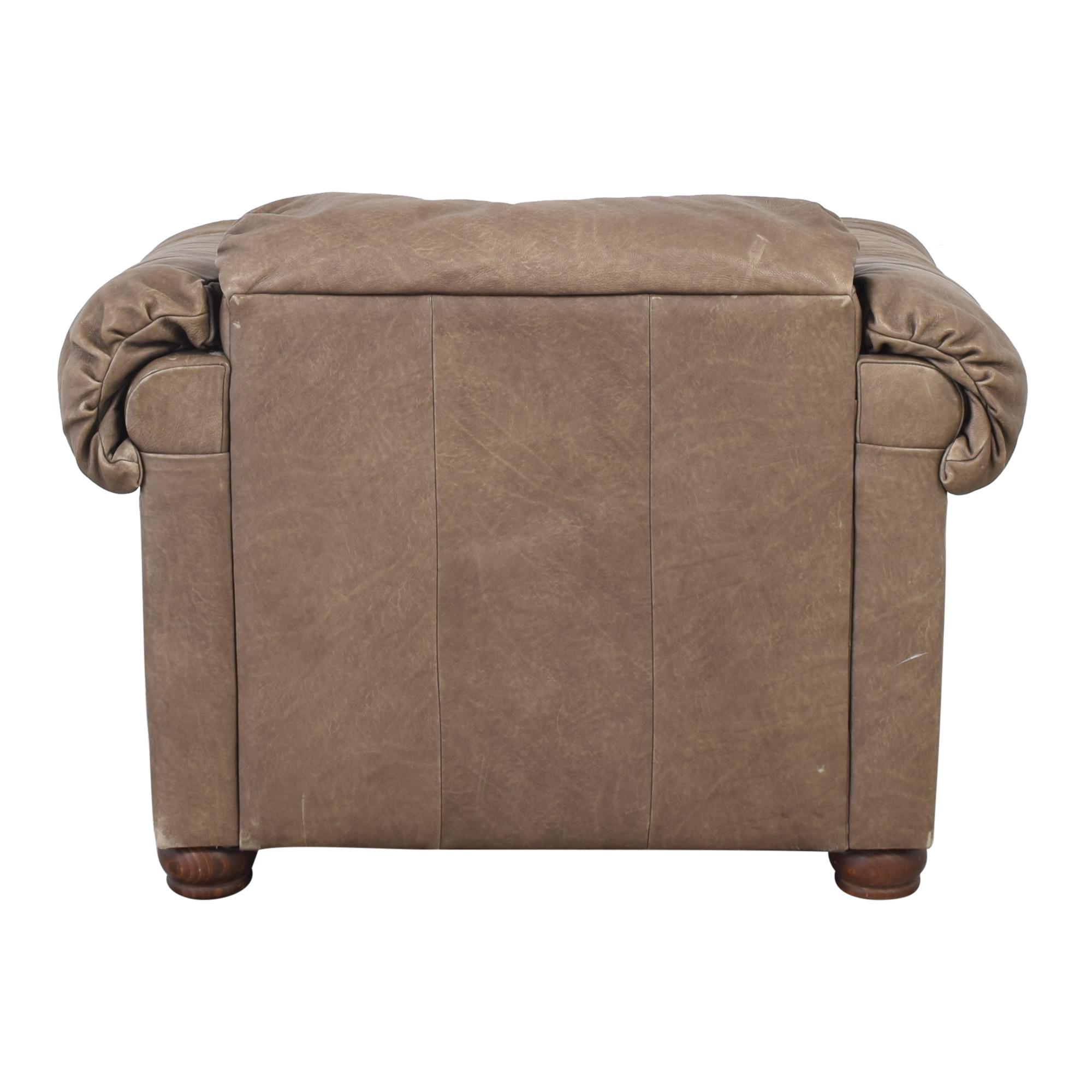 buy Lane Leather Arm Chair Lane Furniture