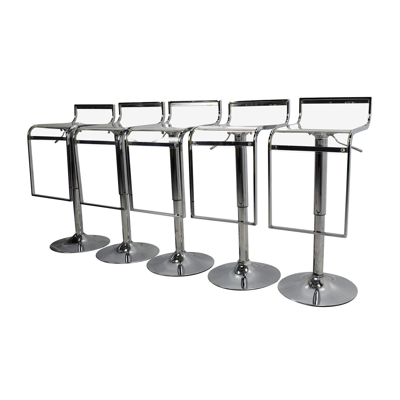 amazon transparent bar stool set nj