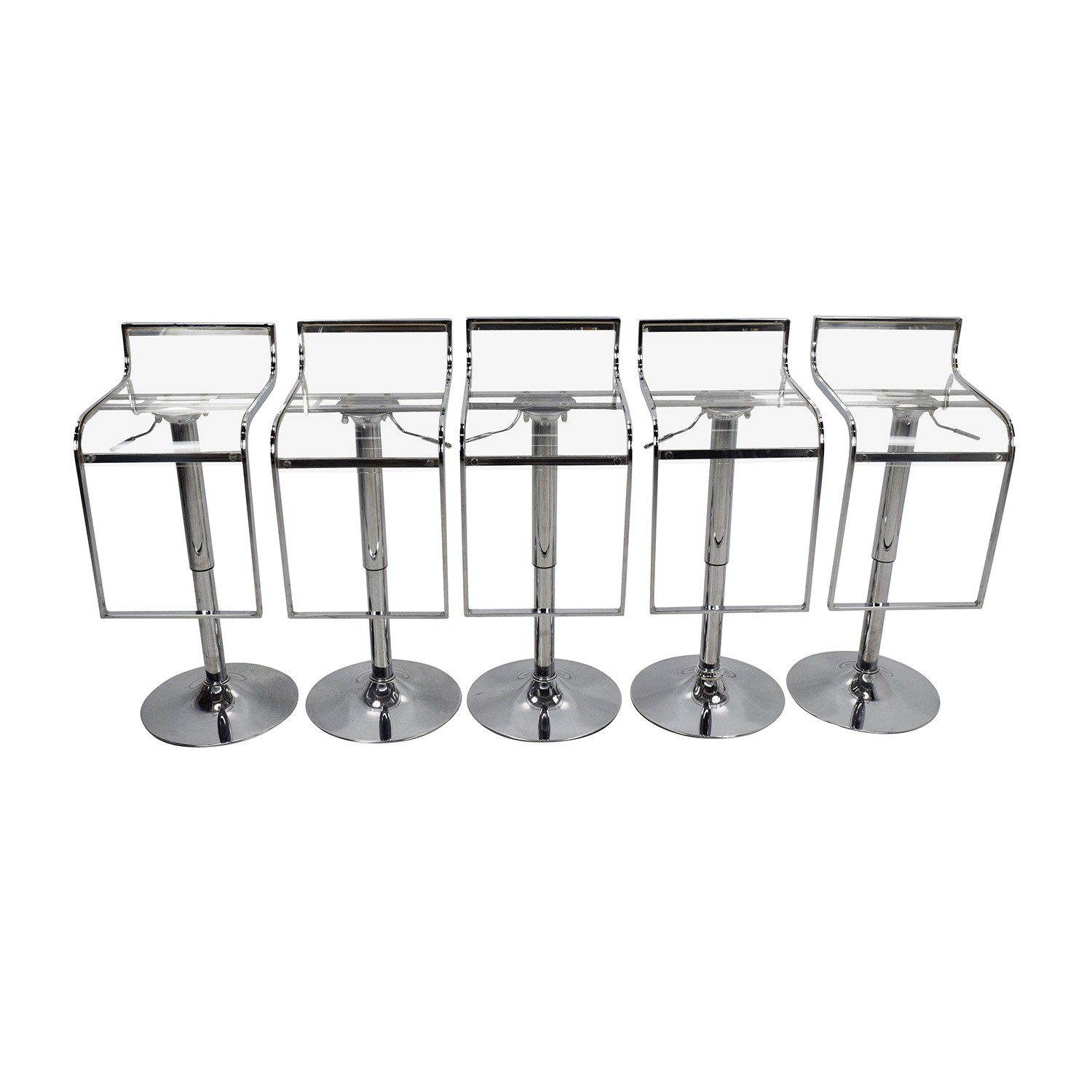 shop Transparent Bar Stool Set Amazon Stools