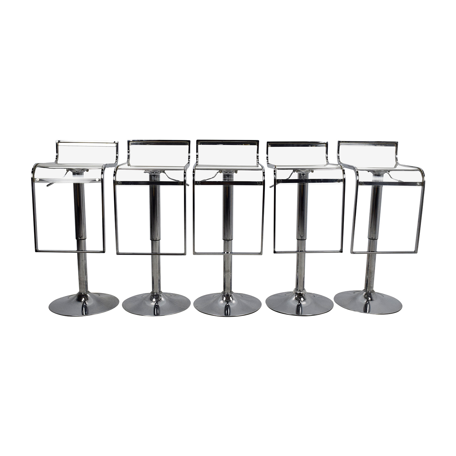 Amazon Transparent Bar Stool Set coupon
