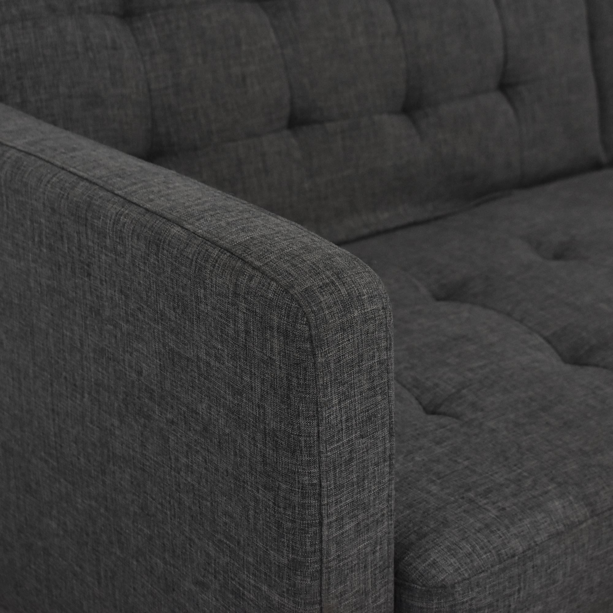 Zuri Furniture Zuri Furniture Beta Sleeper Sofa pa