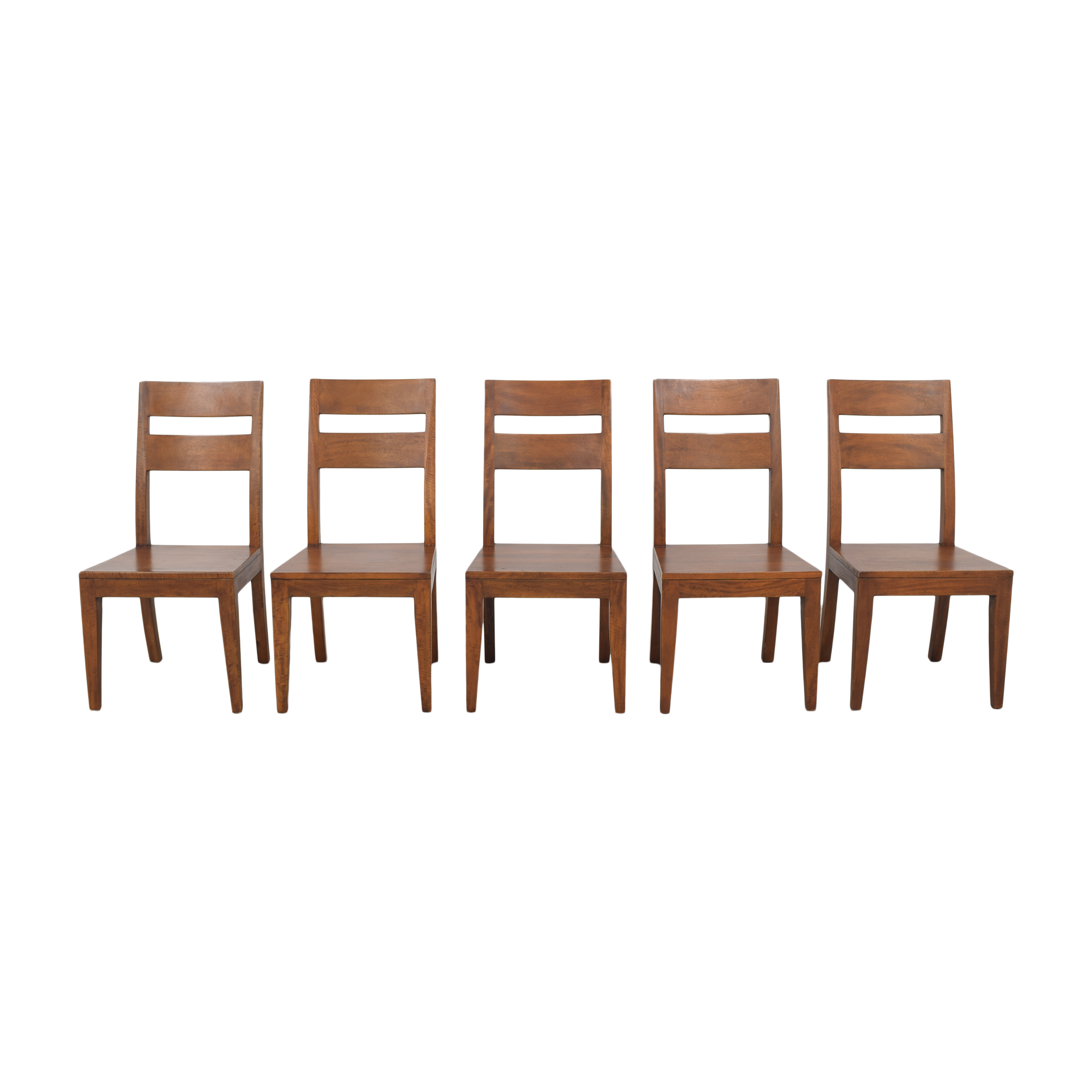 shop Create & Barrel Basque Dining Chairs Crate & Barrel