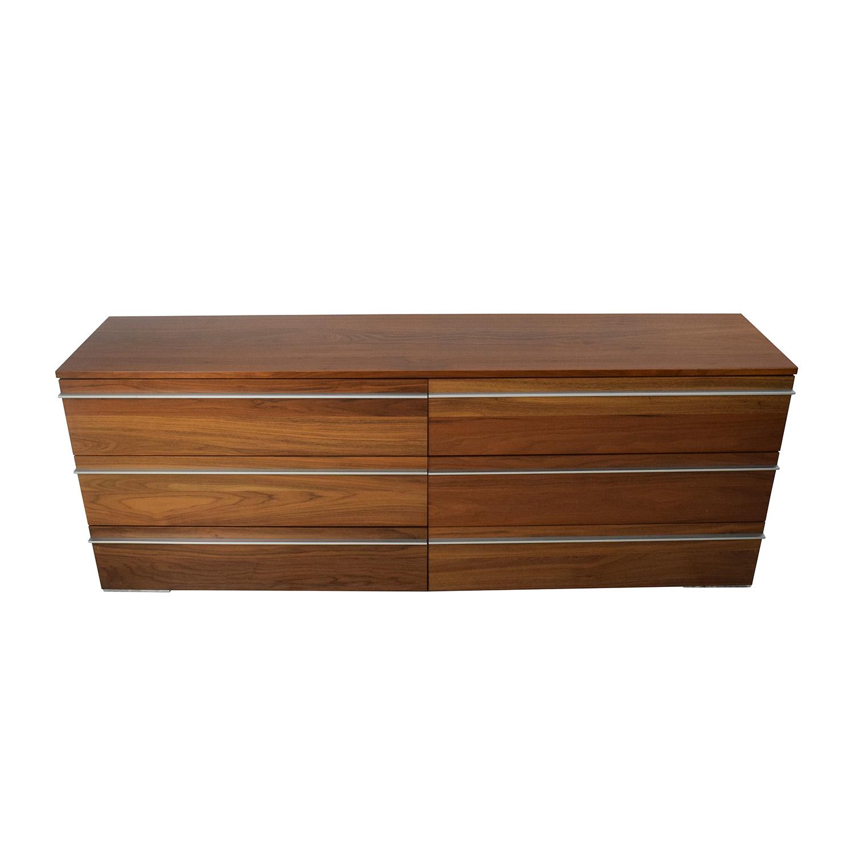 BoConcept BoConcept 6-Drawer Double Dresser nj
