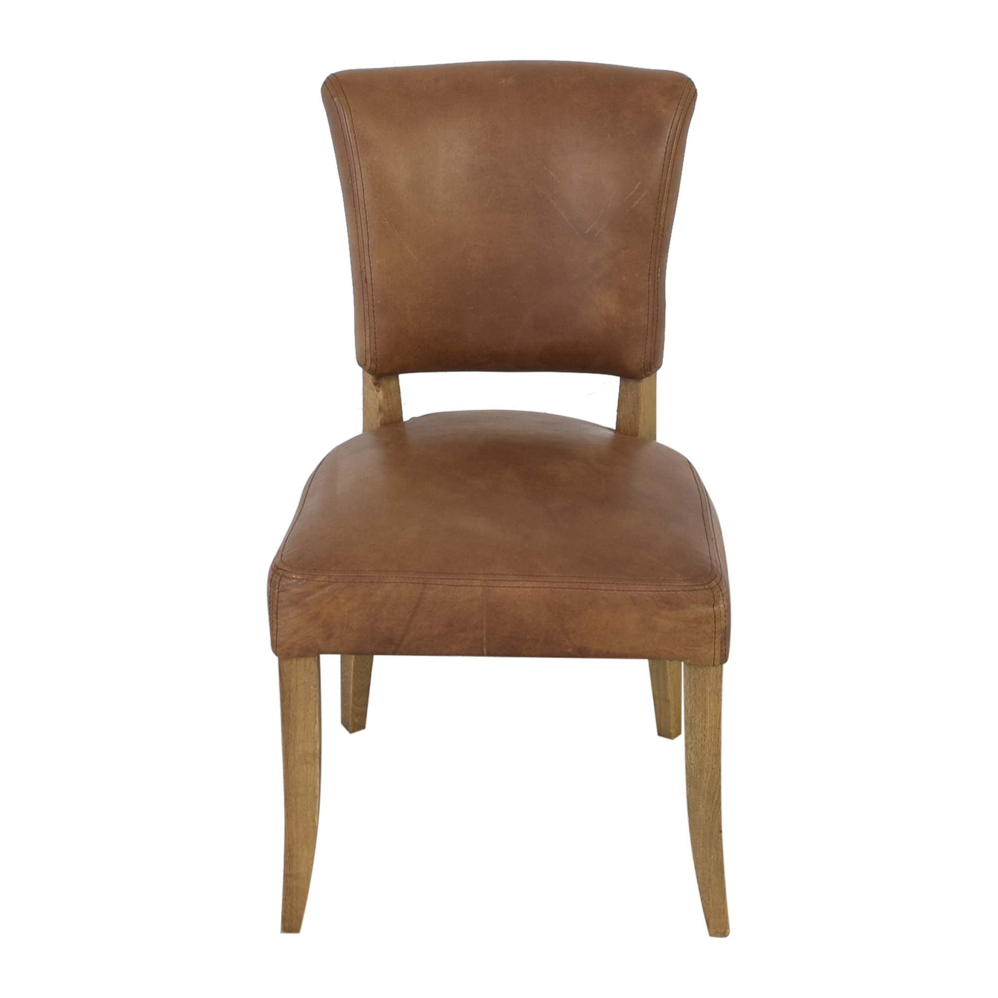 Restoration Hardware Restoration Hardware Adele Leather Side Chair price