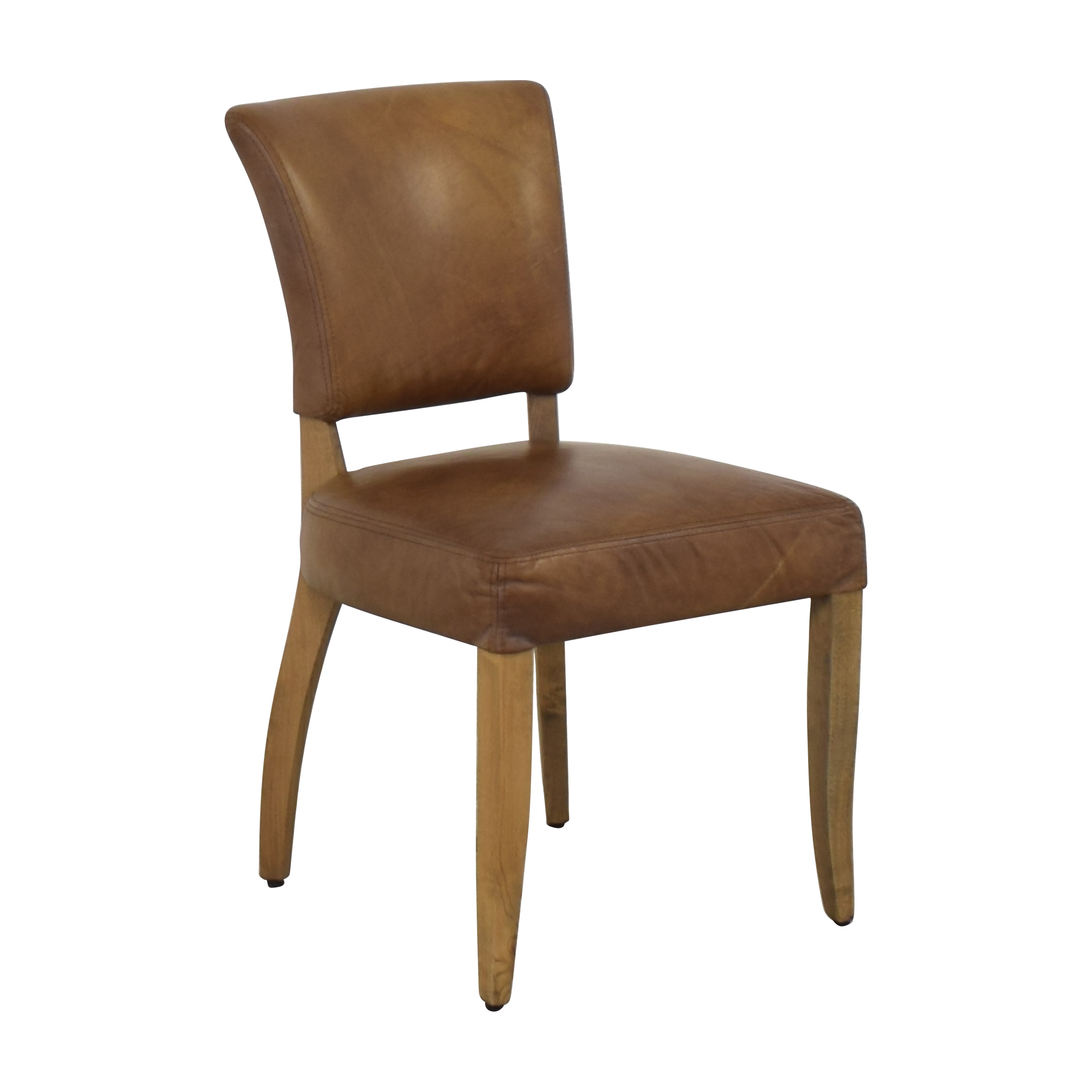 Restoration Hardware Restoration Hardware Adele Leather Side Chair ma