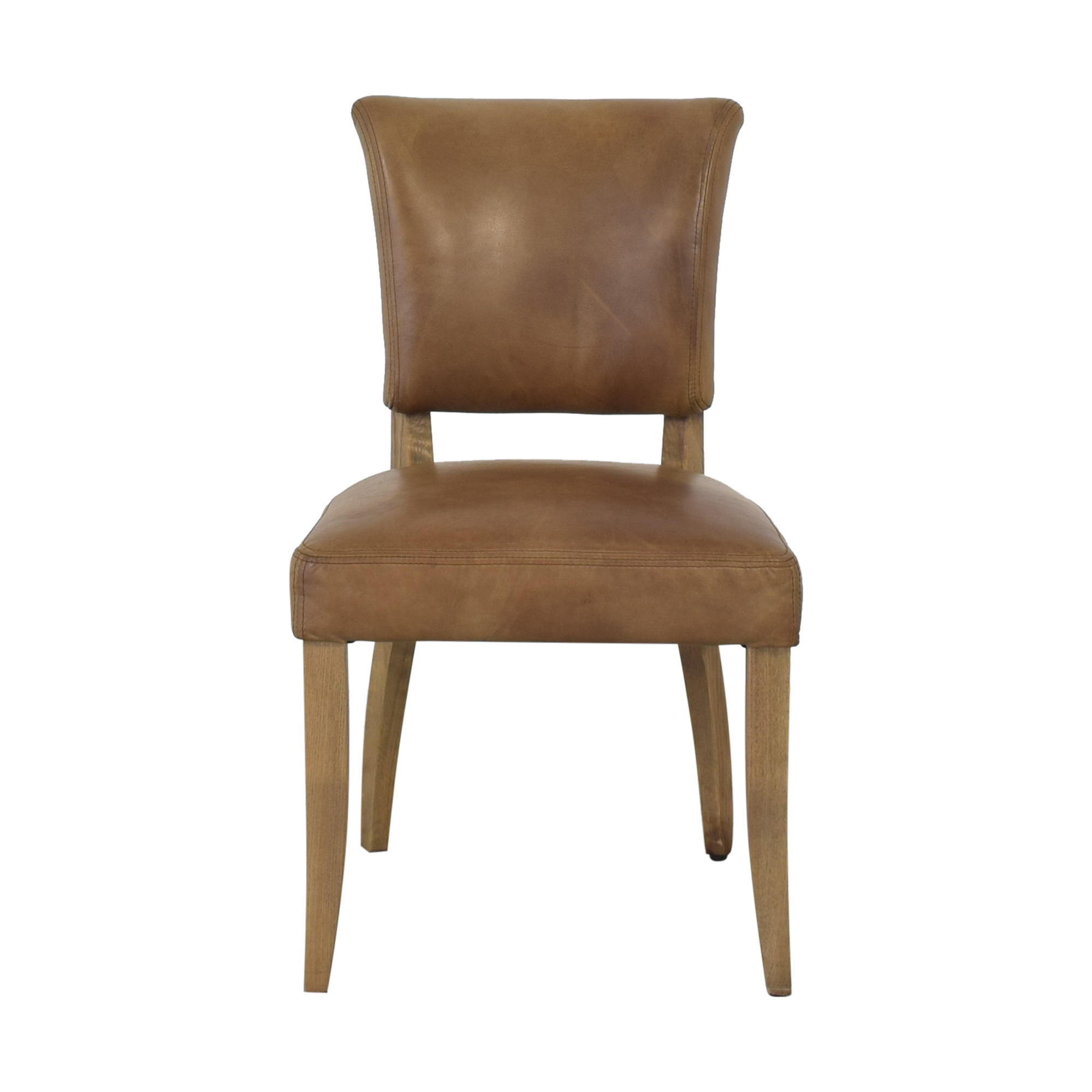 Restoration Hardware Restoration Hardware Adele Leather Side Chair coupon