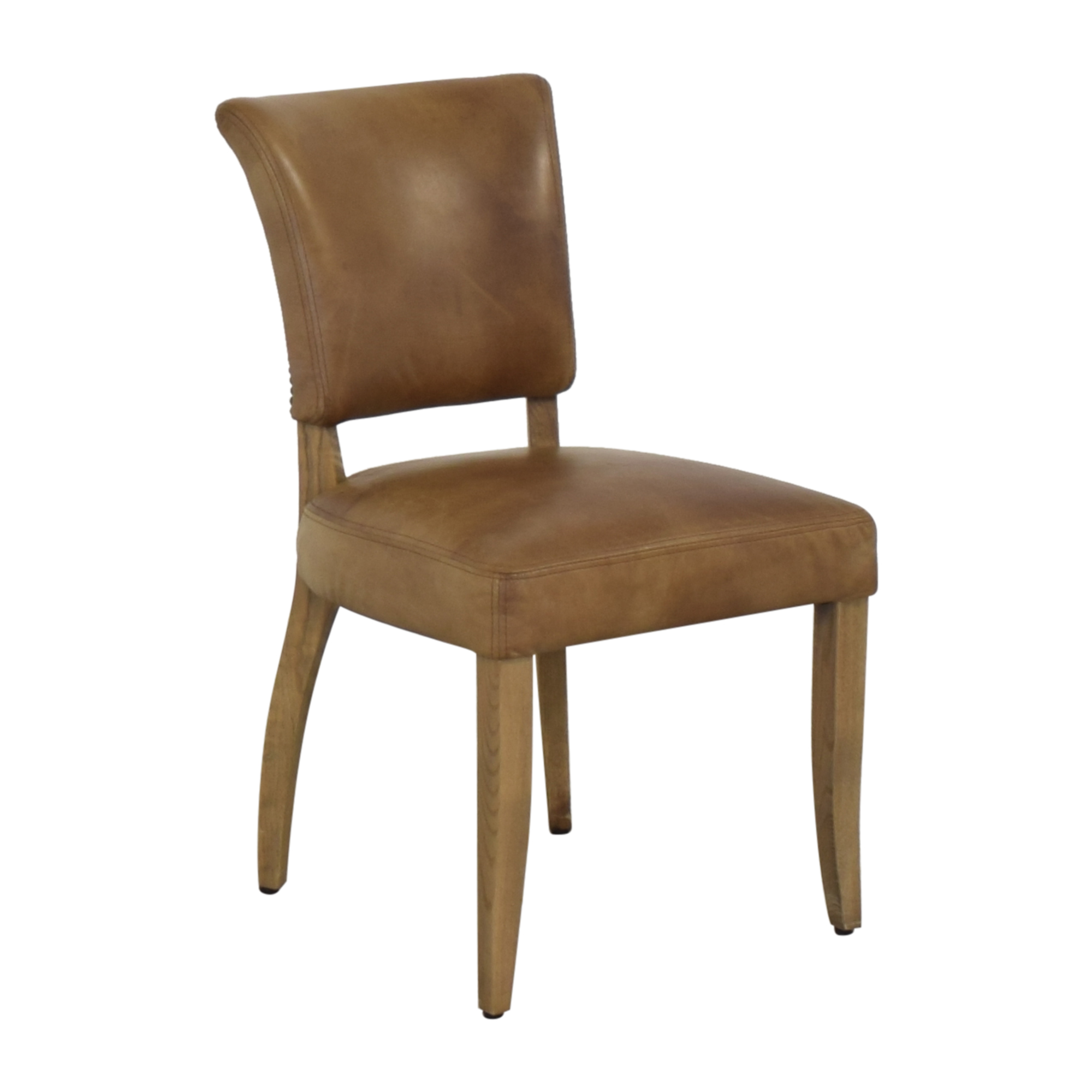 Restoration Hardware Restoration Hardware Adele Leather Side Chair nj