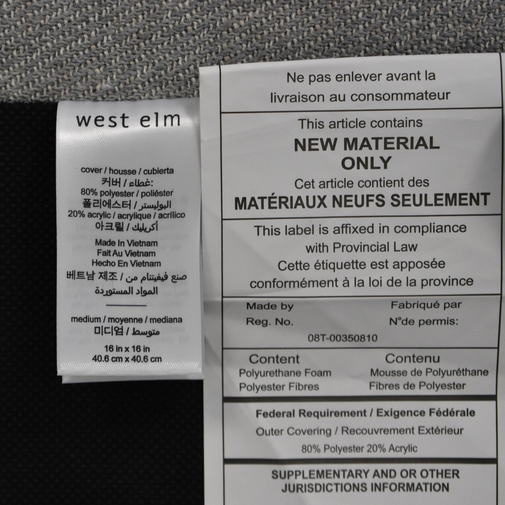 buy West Elm Auburn Sofa West Elm Loveseats