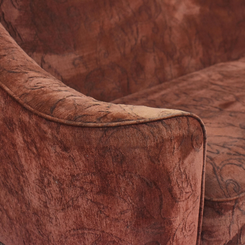 buy Schnadig Bench Cushion Sofa Schnadig Classic Sofas