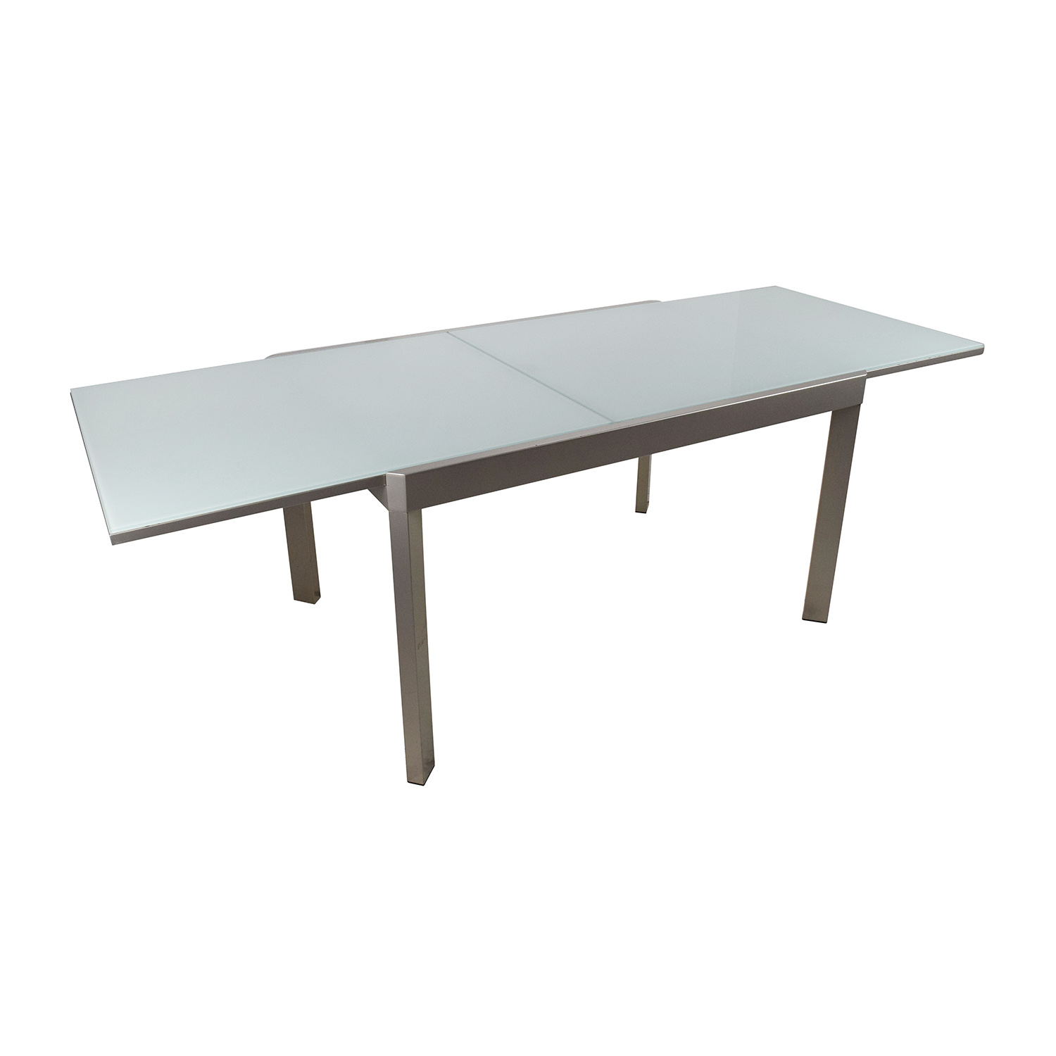 79 off calligaris calligaris extendable glass dining for Extendable glass dining table