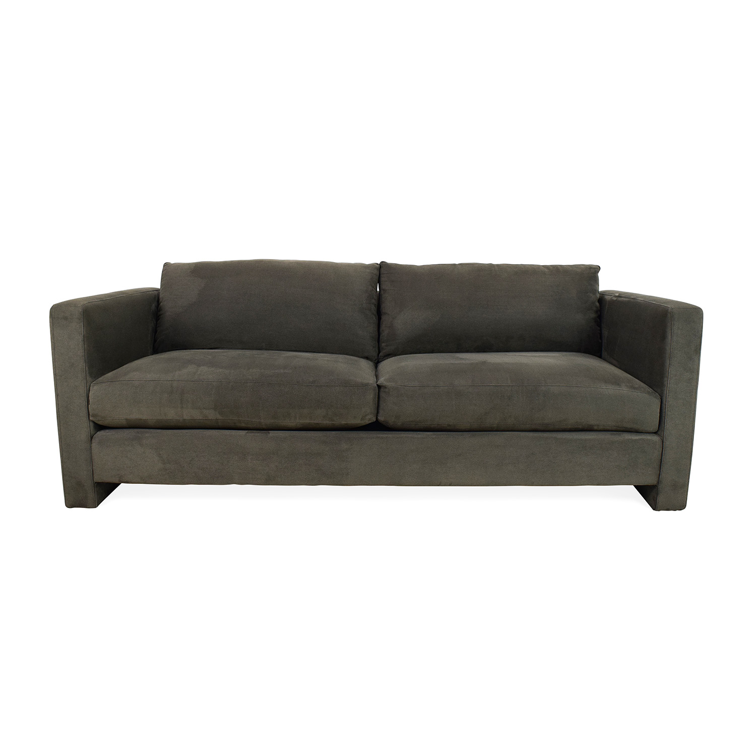 CB2 CB2 Gray Sofa second hand