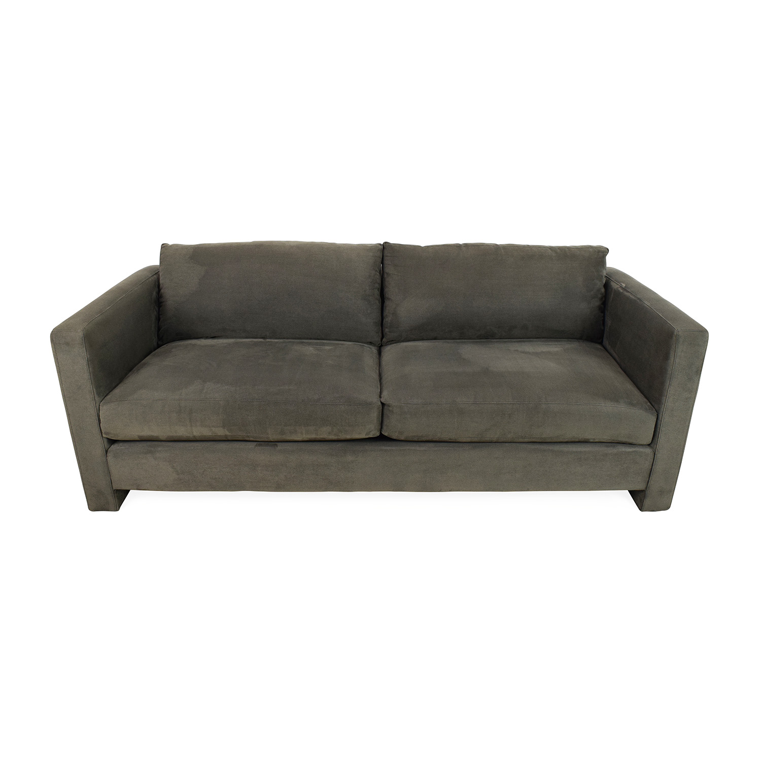 CB2 Gray Sofa sale