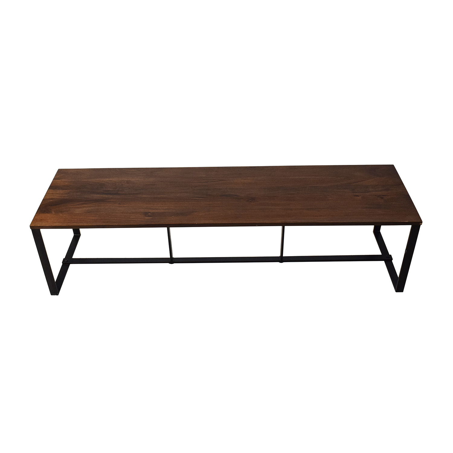 77% OFF Wooden & Tiled Coffee Table Tables