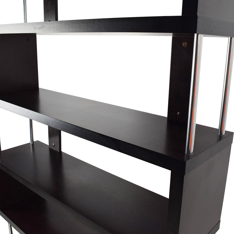 Tall Zigzag Shelf Unit for sale