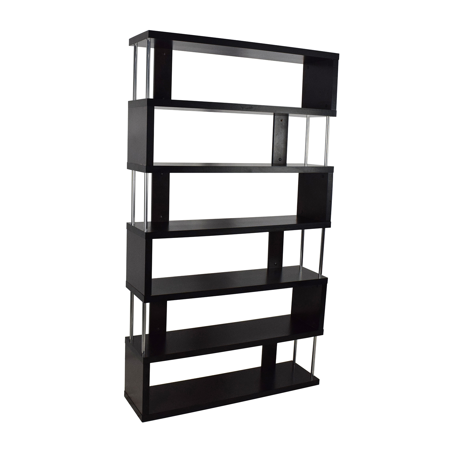 now furniture go gm at bookcases store discontinued large zigzag zig bookcase zag contemporary lema
