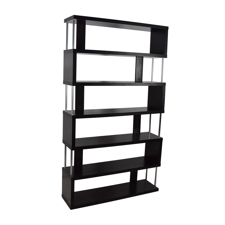shop Tall Zigzag Shelf Unit Bookcases & Shelving