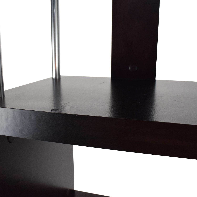 Tall Zigzag Shelf Unit second hand