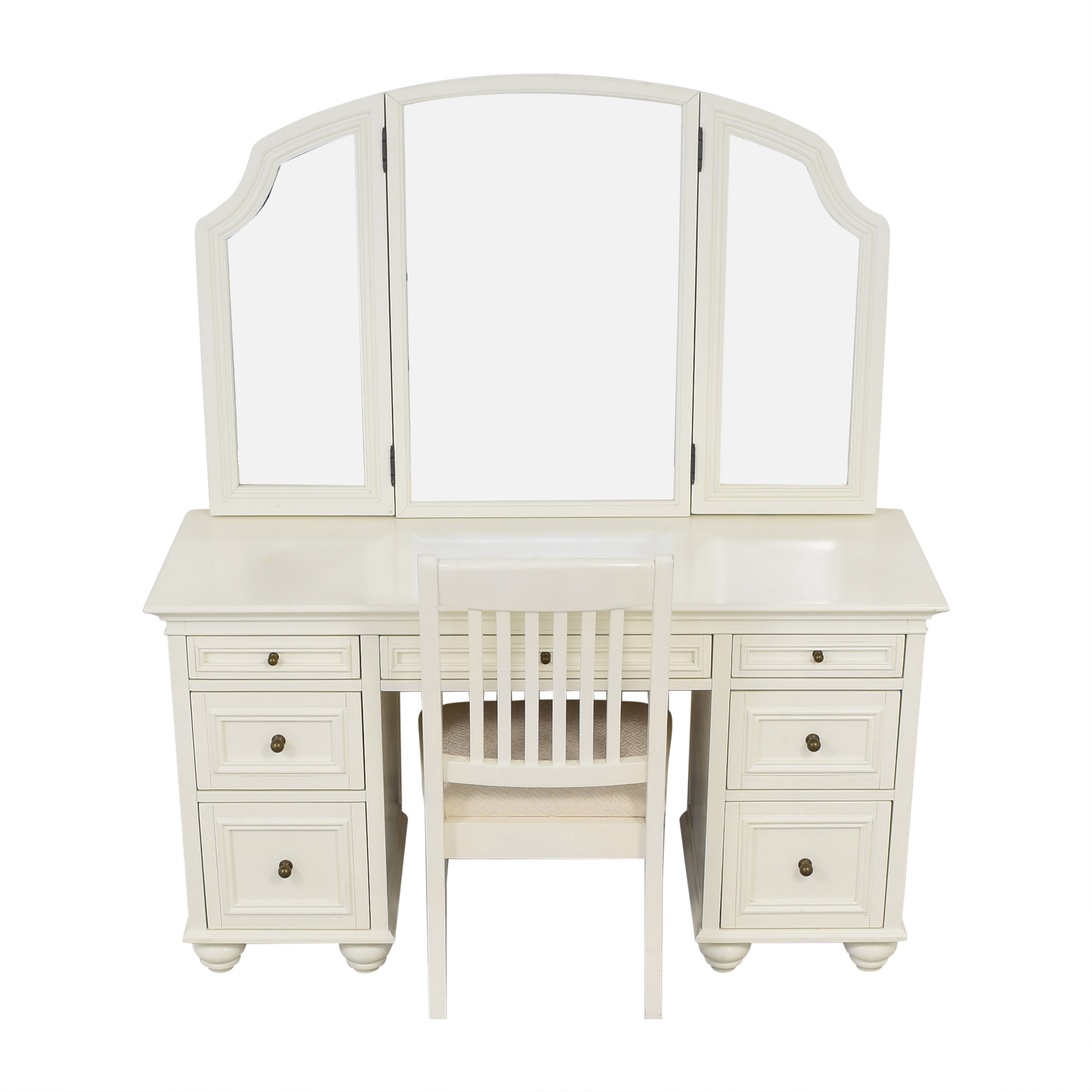 Pottery Barn Pottery Barn Chelsea Vanity Desk with Chair nyc