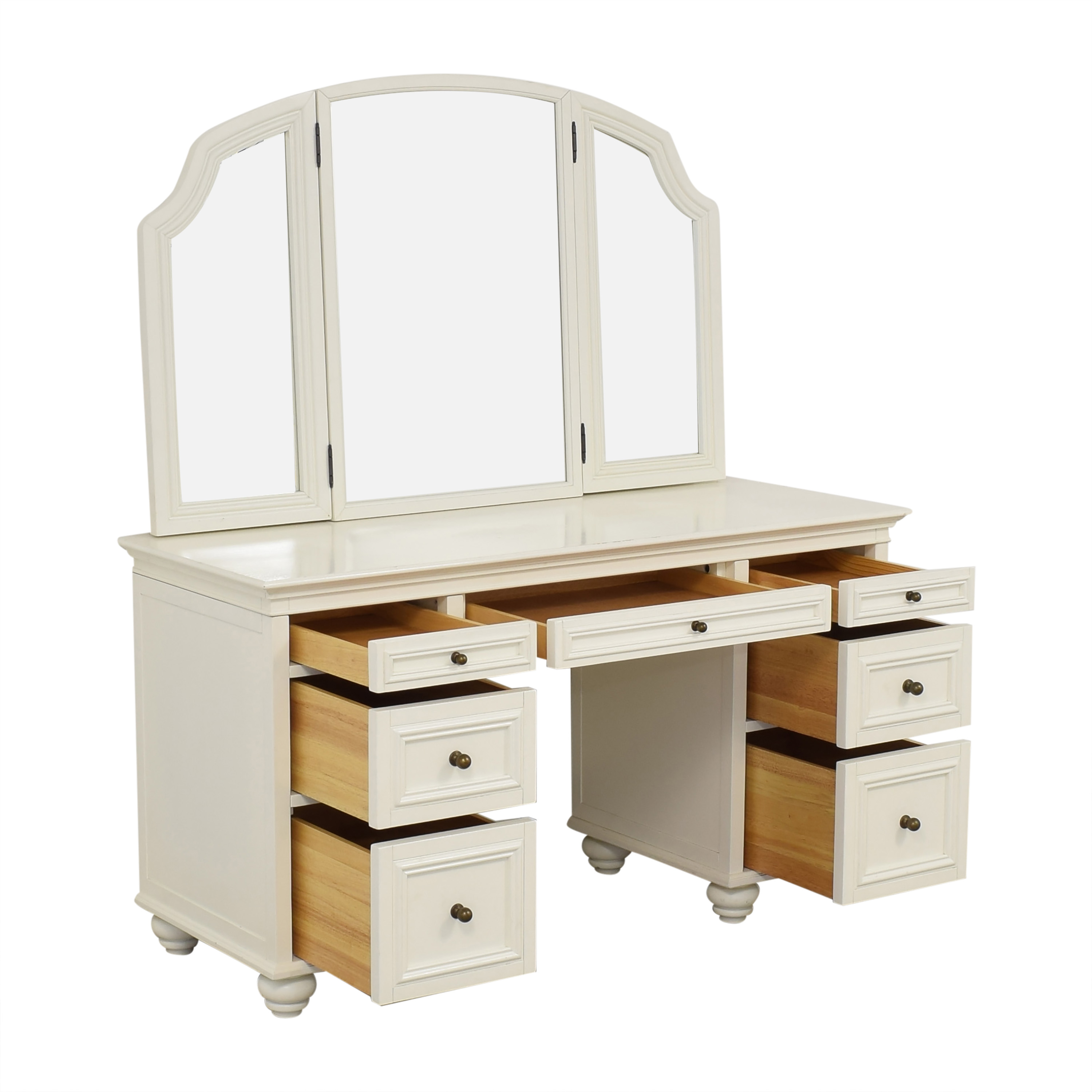 buy Pottery Barn Pottery Barn Chelsea Vanity Desk with Chair online