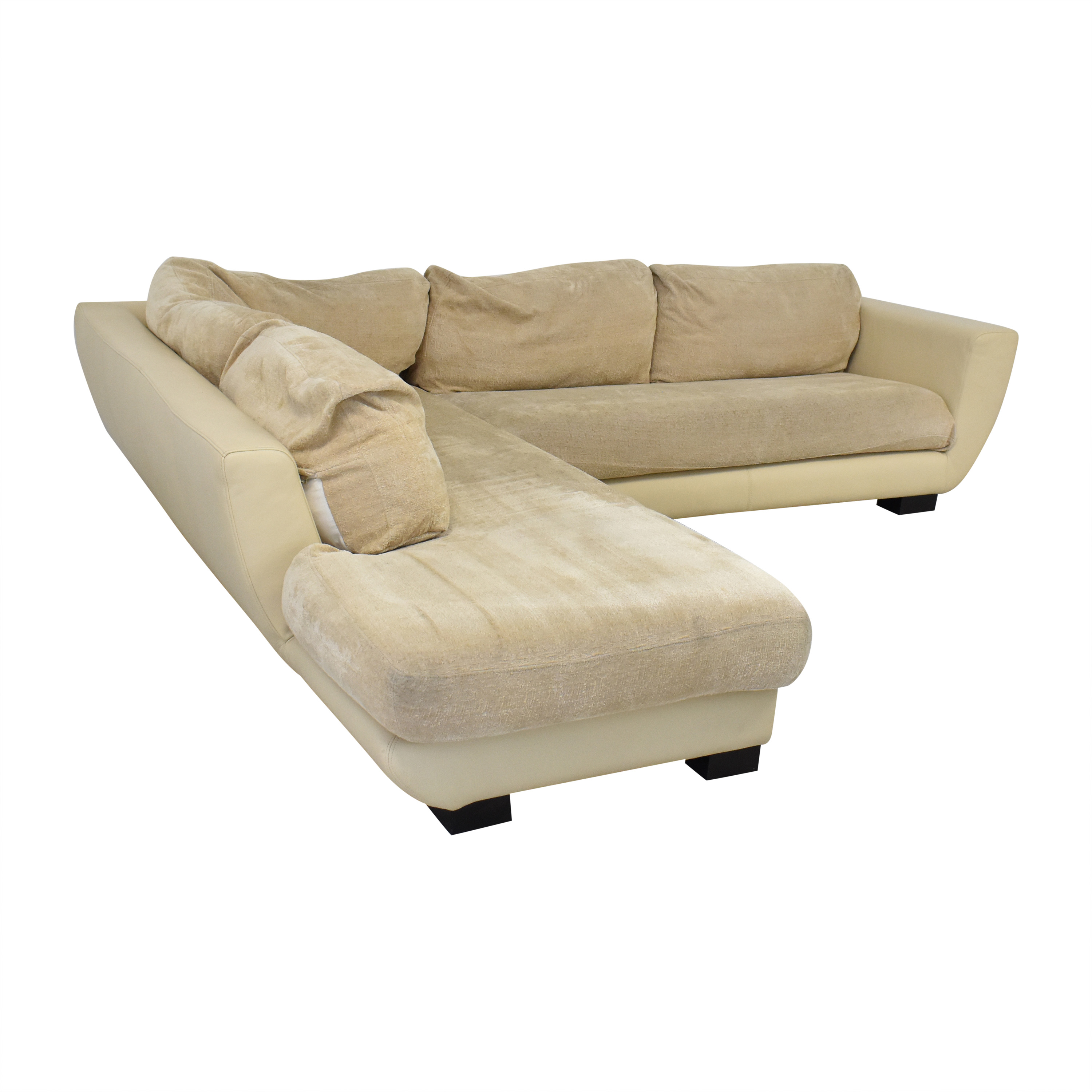 Maurice Villency Maurice Villency Sectional Sofa dimensions