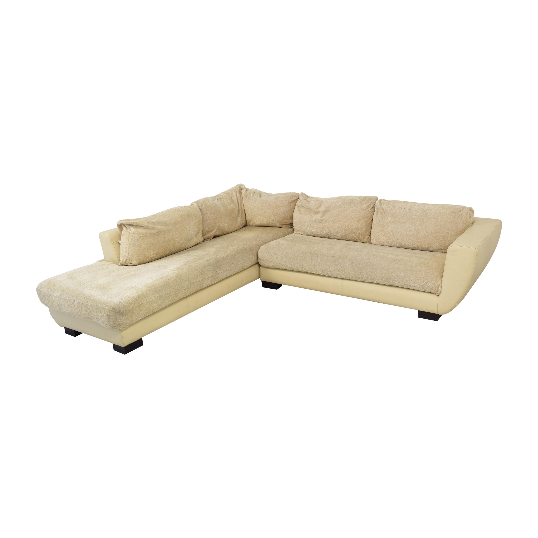 Maurice Villency Maurice Villency Sectional Sofa nj