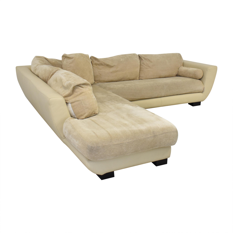shop Maurice Villency Sectional Sofa Maurice Villency Sofas
