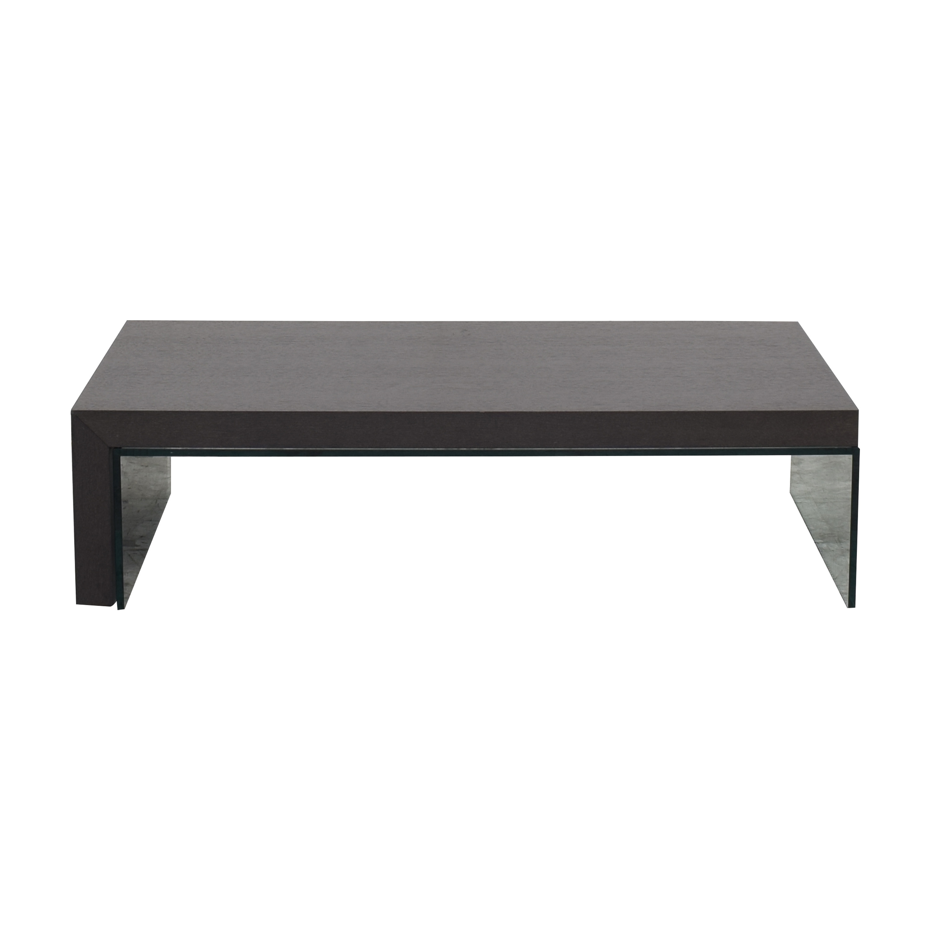 Ligne Roset Ligne Roset Coffee Table with Glass Extension dimensions