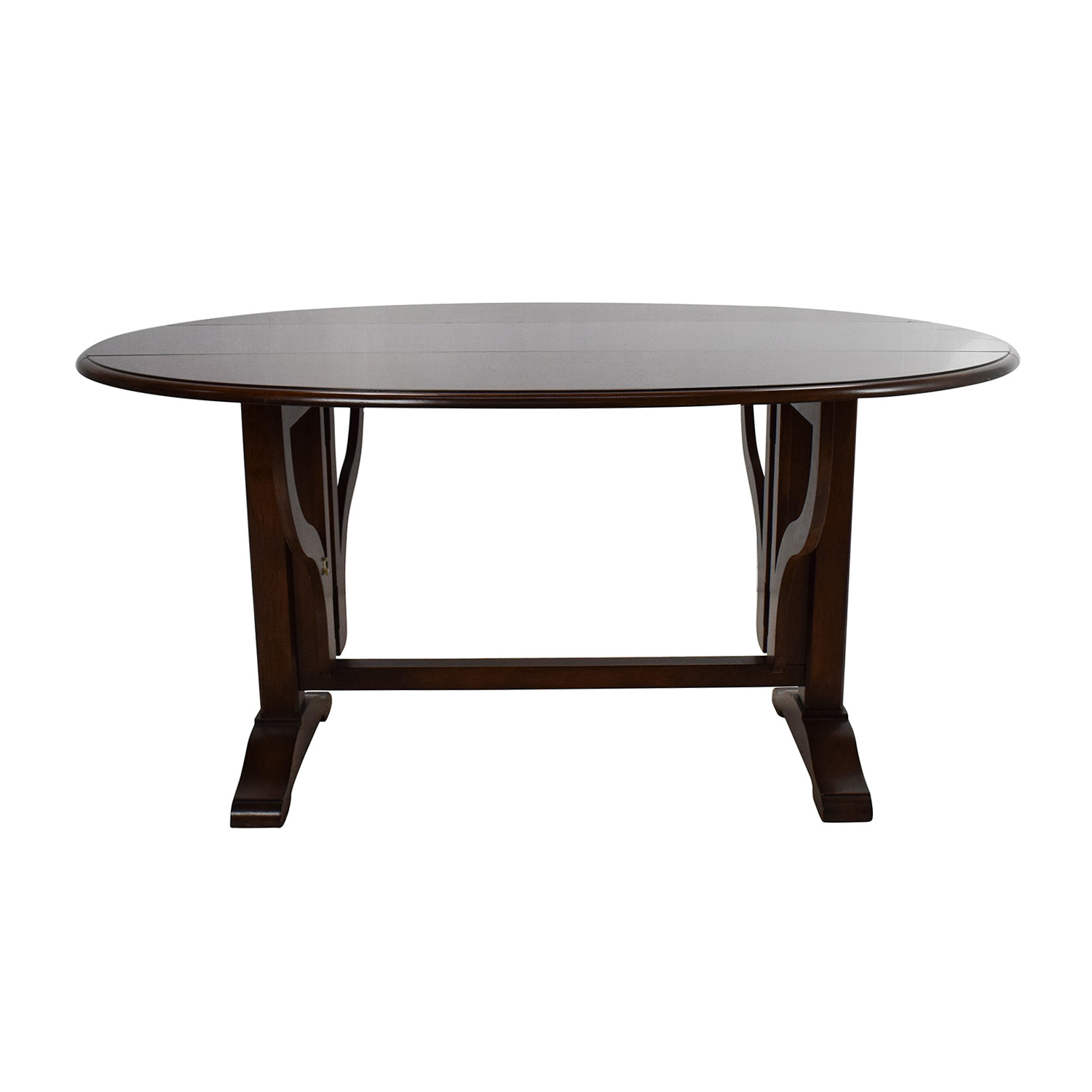 90 Off Door Foldable Round Dining Table Tables