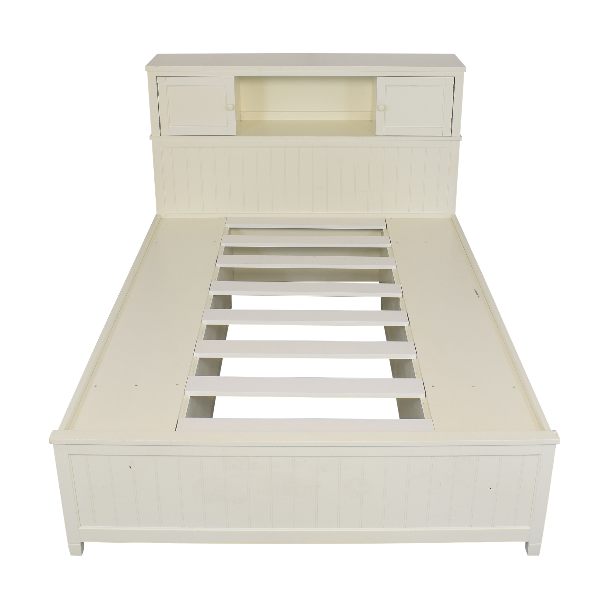 Pottery Barn Teen Pottery Barn Teen Queen Beadboard Storage Bed on sale