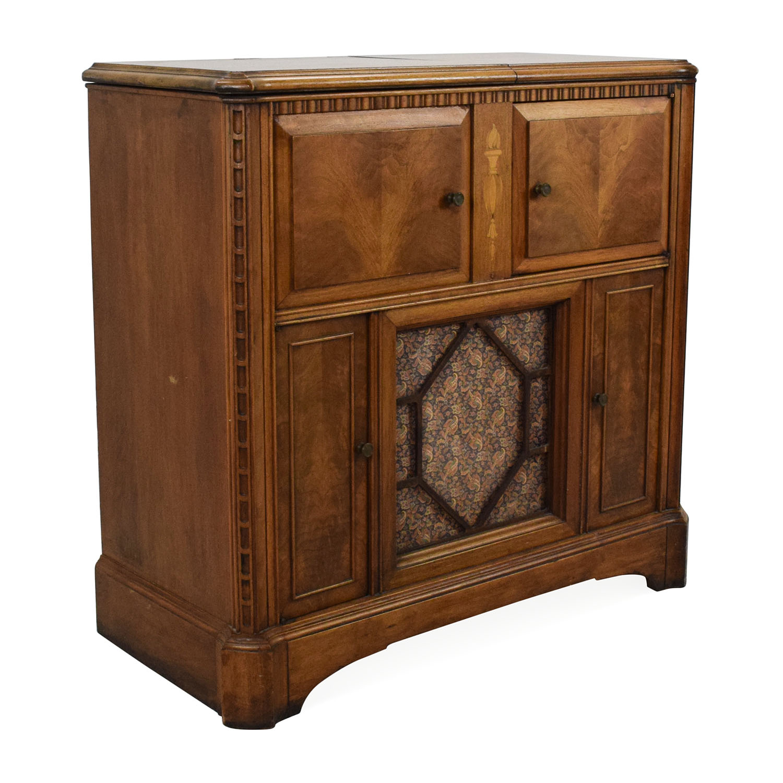 ... buy RCA Victrola 1940's Antique Radio Cabinet RCA Victrola Cabinets &  Sideboards ... - 87% OFF - RCA Victrola RCA Victrola 1940's Antique Radio Cabinet