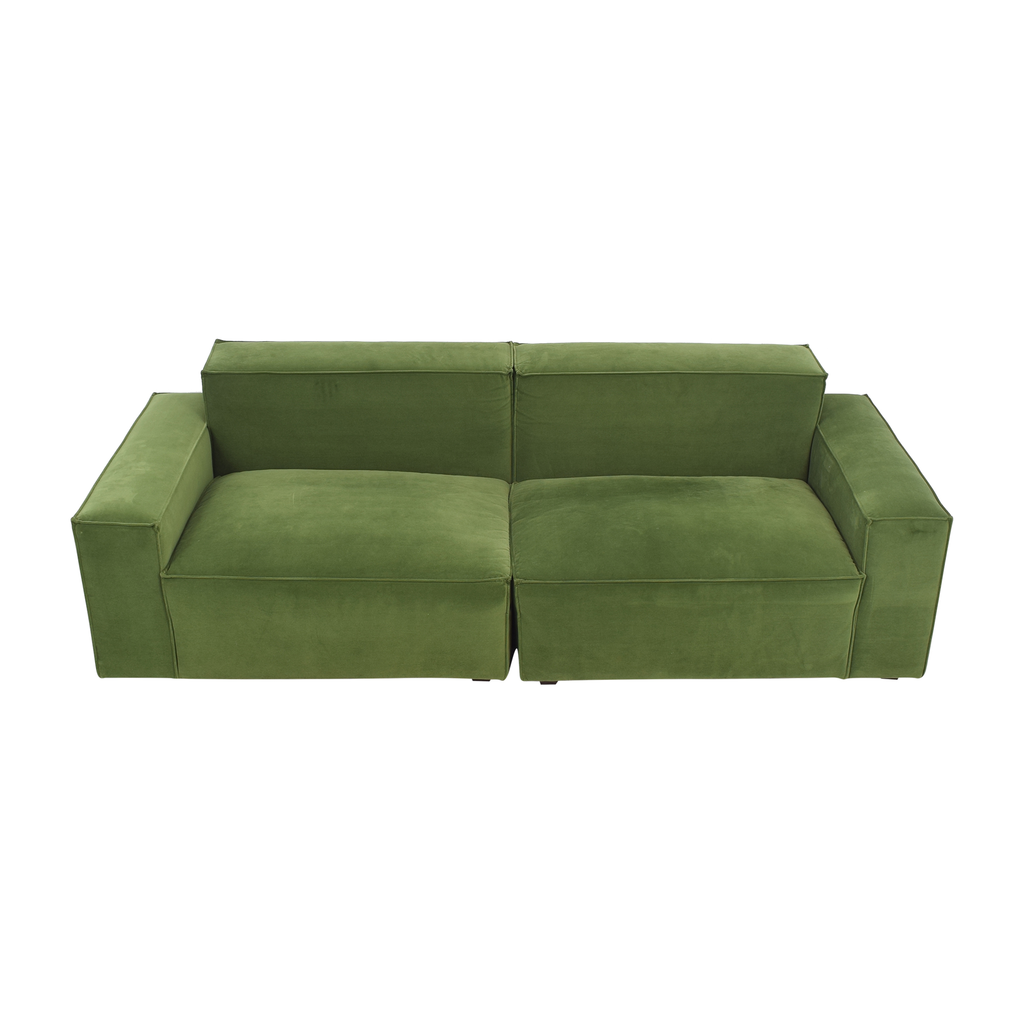 A.R.T. Furniture A.R.T. Raelyn Olafur Two Piece Modular Sectional Sofa Classic Sofas