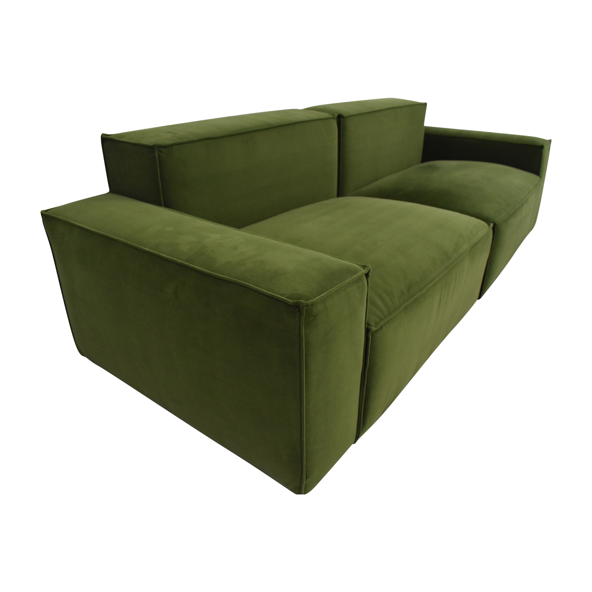 A.R.T. Furniture A.R.T. Raelyn Olafur Two Piece Modular Sectional Sofa second hand