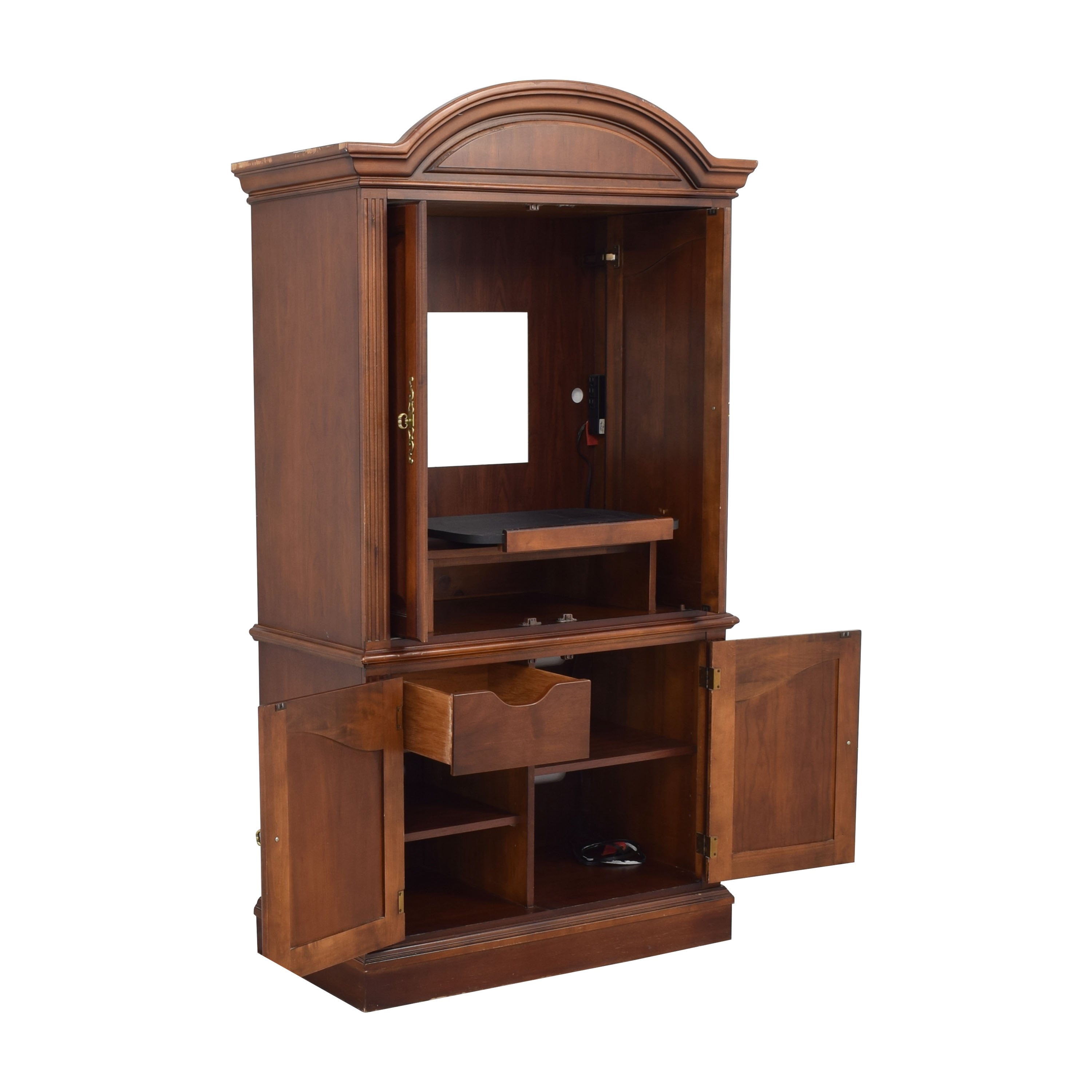 Media Cabinet Armoire / Wardrobes & Armoires