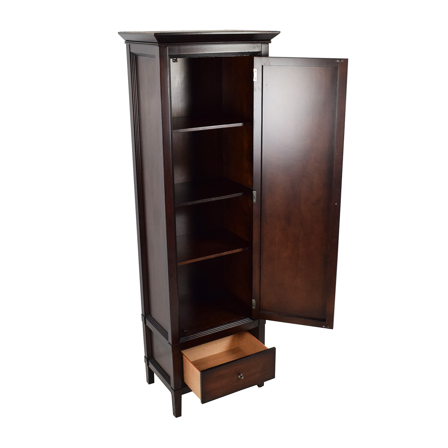 74 off macy 39 s macy 39 s tall armoire storage. Black Bedroom Furniture Sets. Home Design Ideas