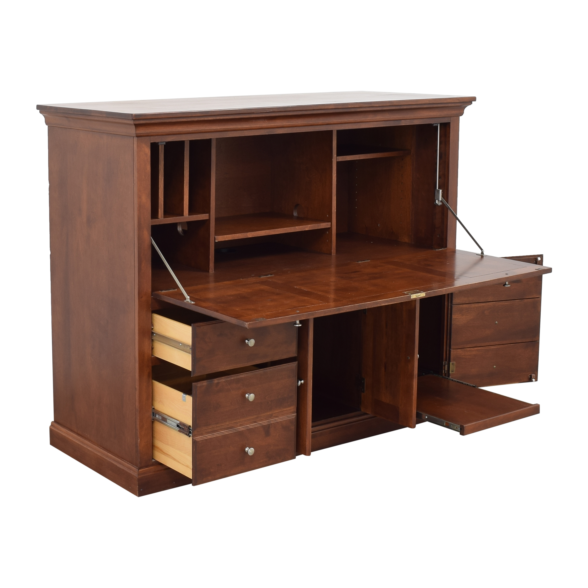 42% OFF - Nichols & Stone Nichols & Stone Computer Desk Cabinet / Storage