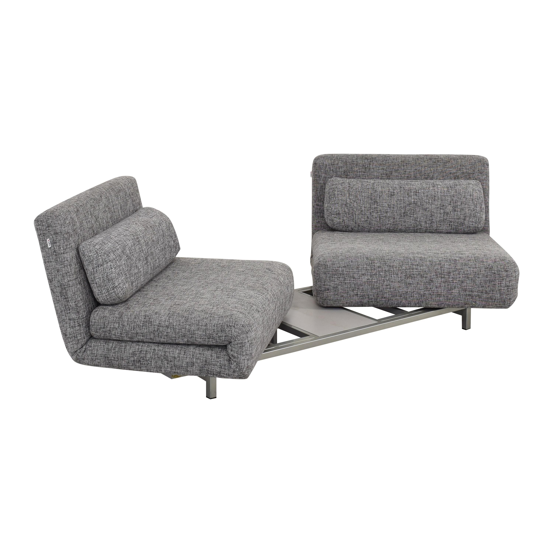 IDO IDO Swivel Convertible Sofa Bed ma